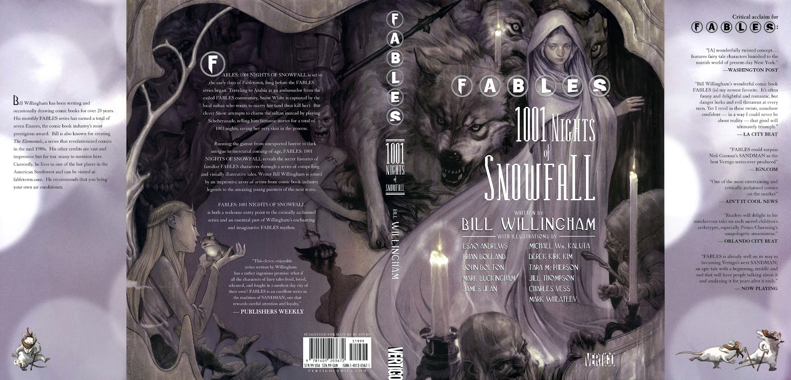 Fables: 1001 Nights of Snowfall issue 1 - Page 1