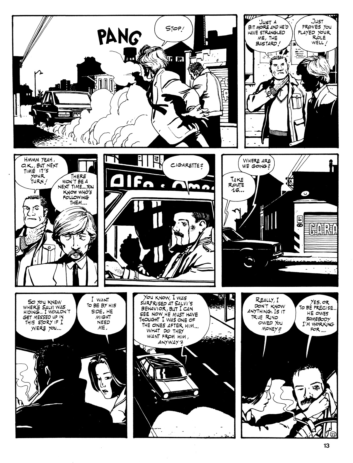 Read online Cases from the Files of Sam Pezzo, P.I. comic -  Issue # Full - 14