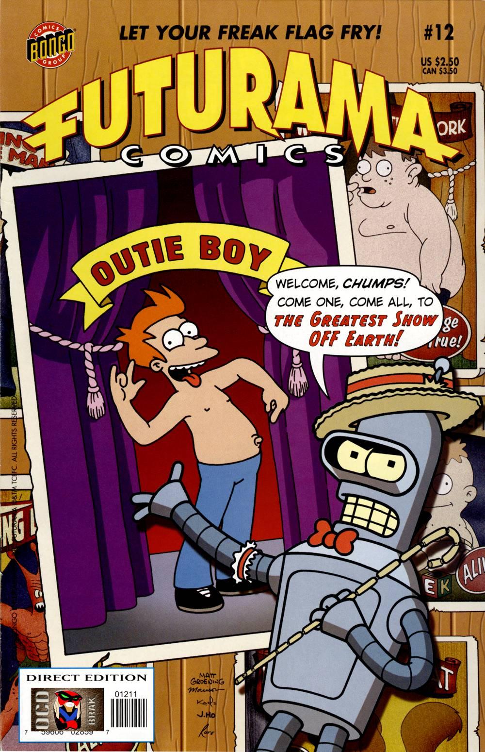 Futurama Comics issue 12 - Page 1