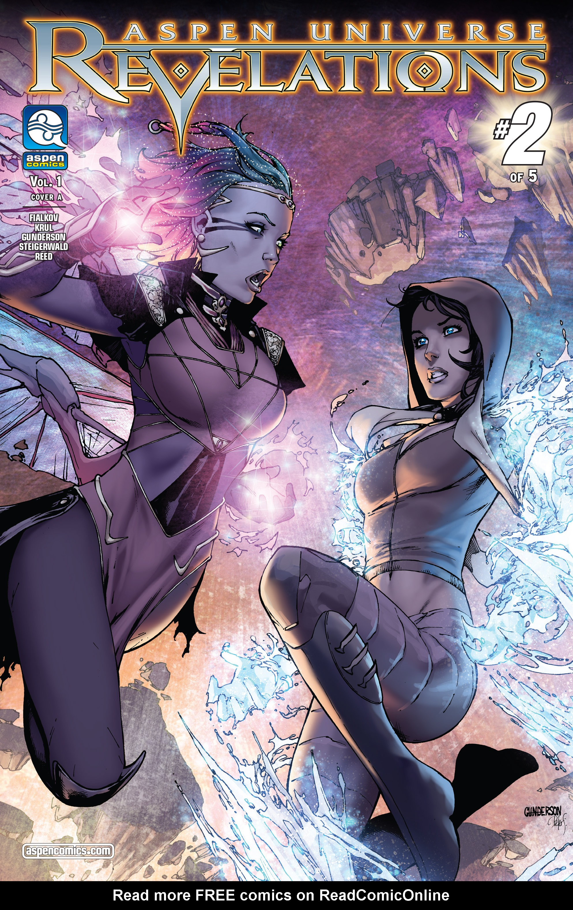 Read online Aspen Universe: Revelations comic -  Issue #2 - 1