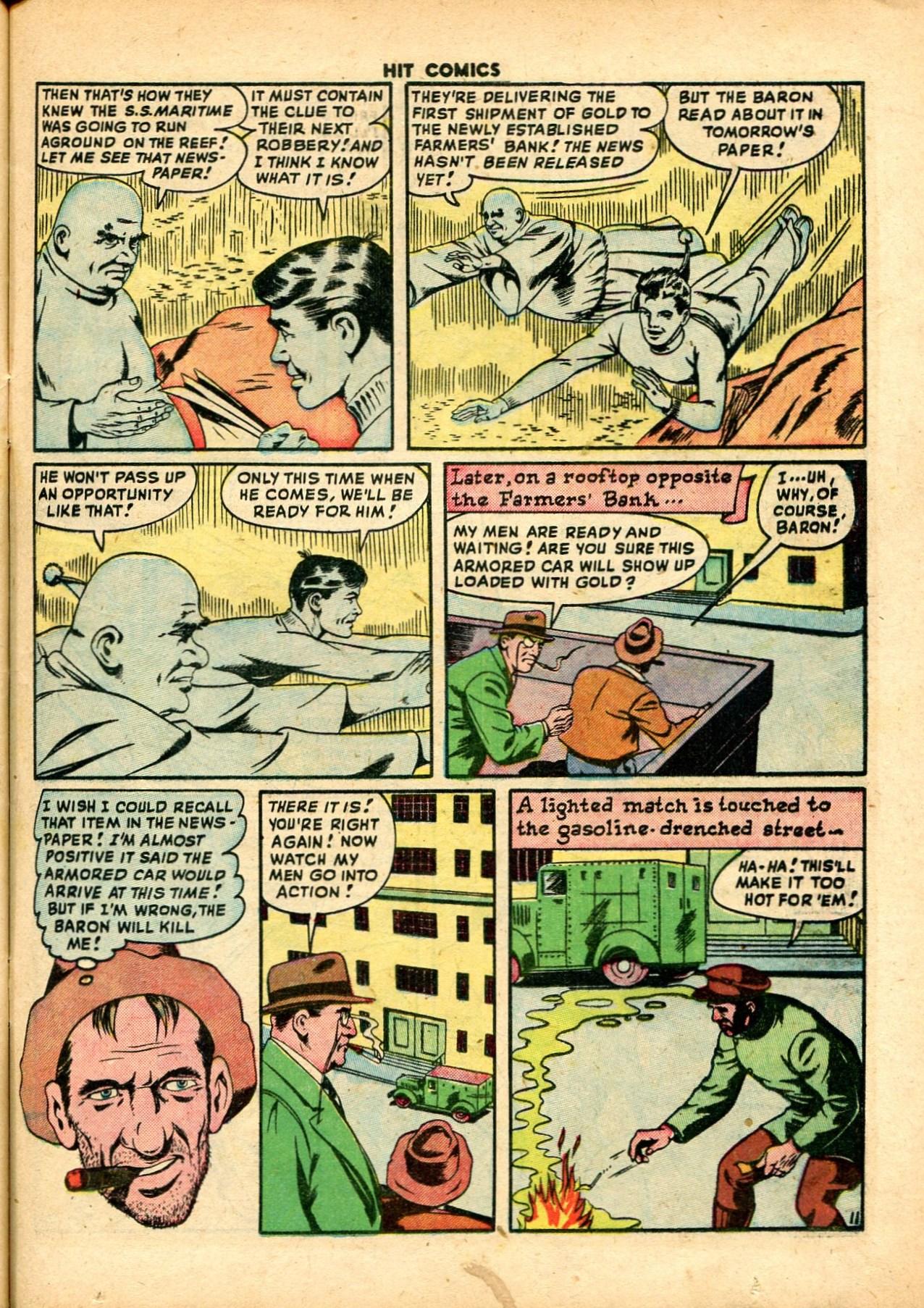 Read online Hit Comics comic -  Issue #59 - 13