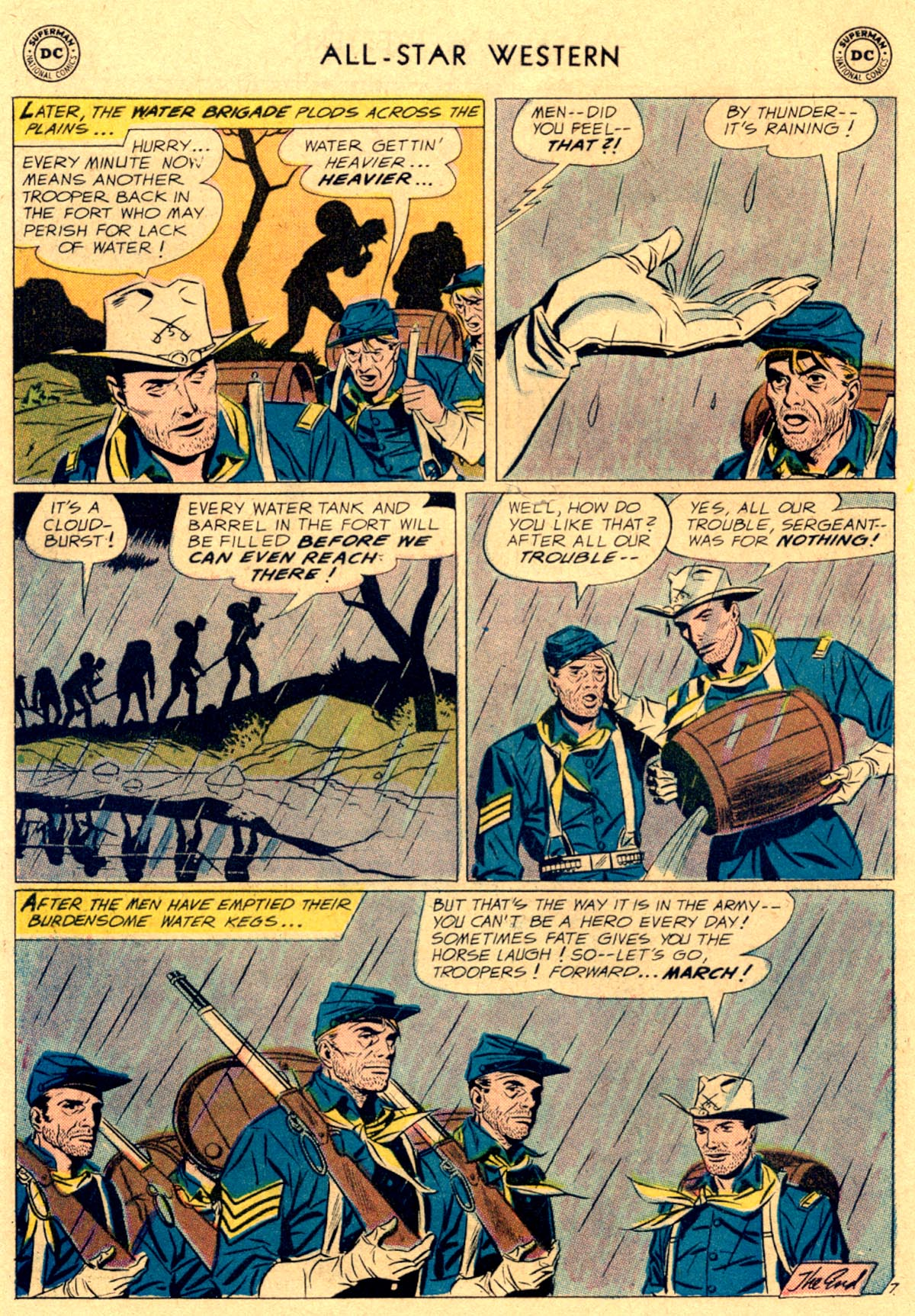 Read online All-Star Western (1951) comic -  Issue #112 - 22