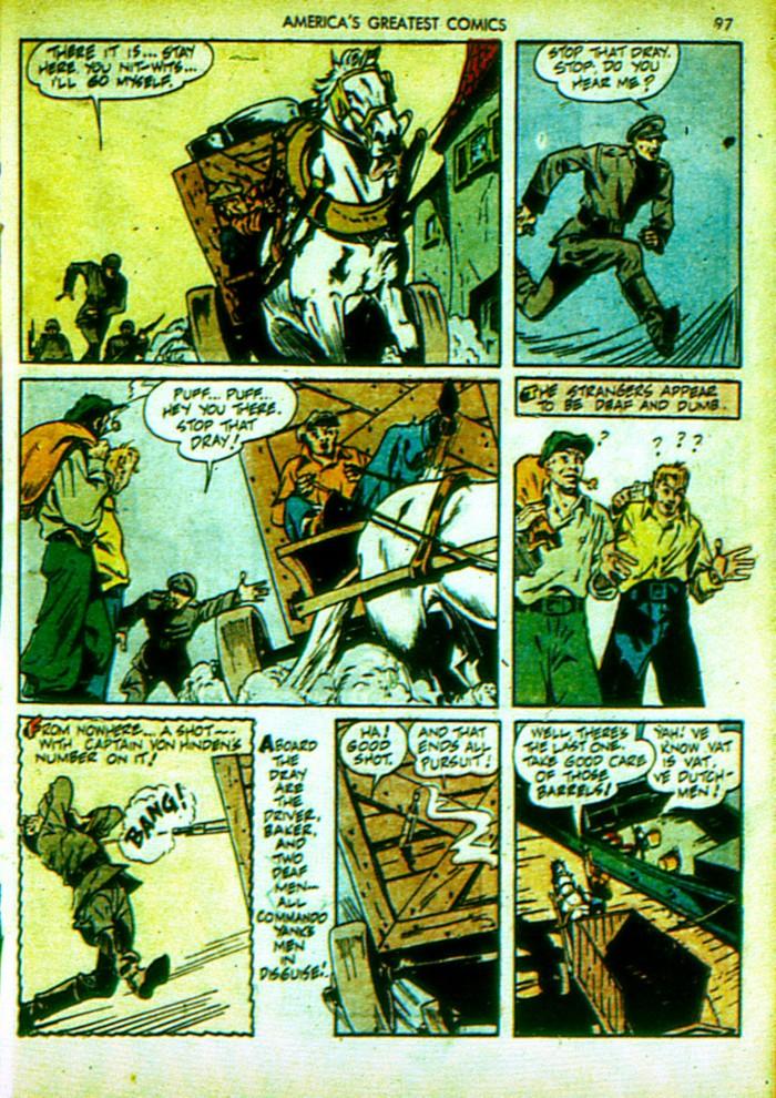 Read online America's Greatest Comics comic -  Issue #4 - 98