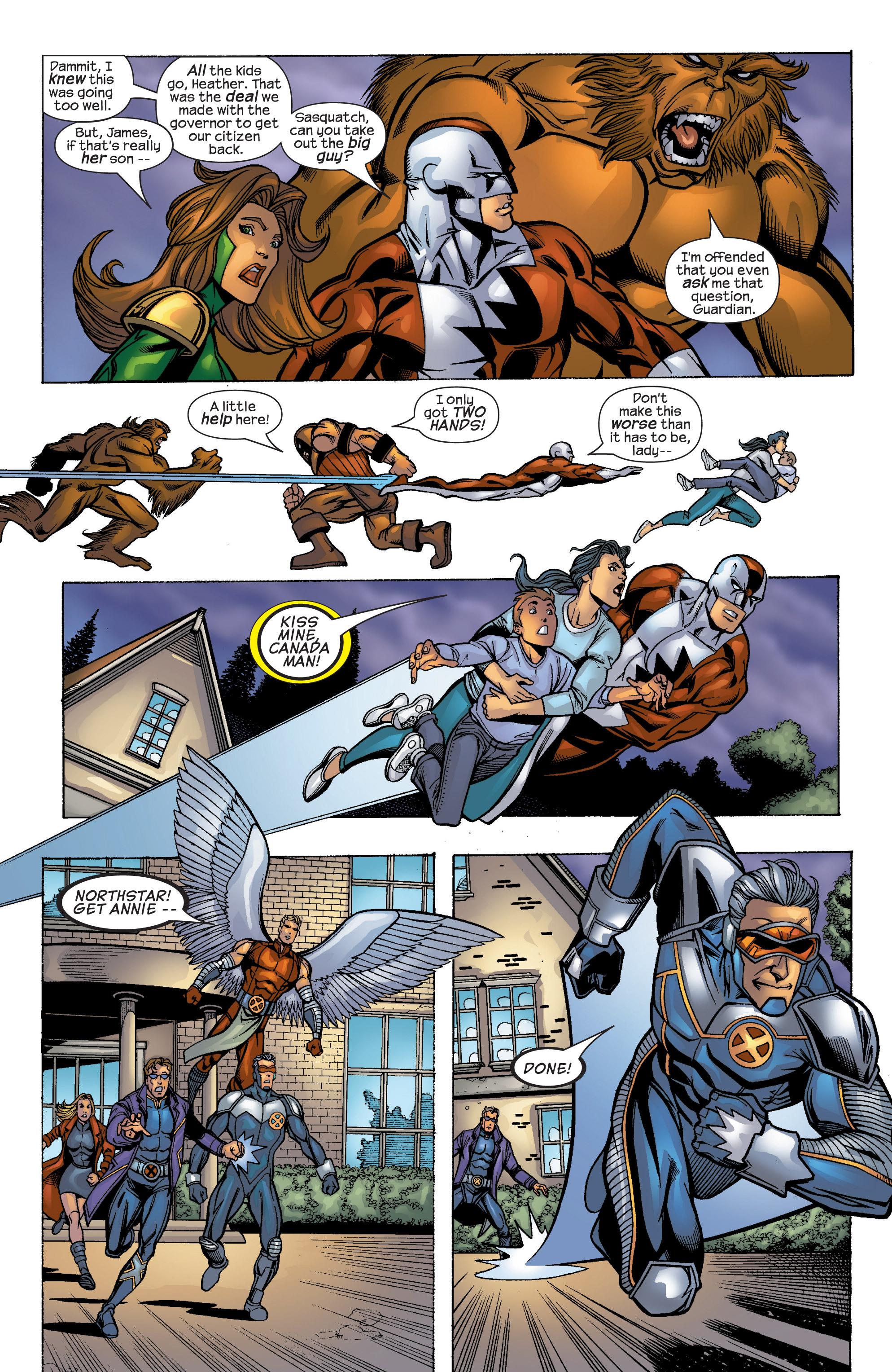 Read online Uncanny X-Men (1963) comic -  Issue #422 - 19