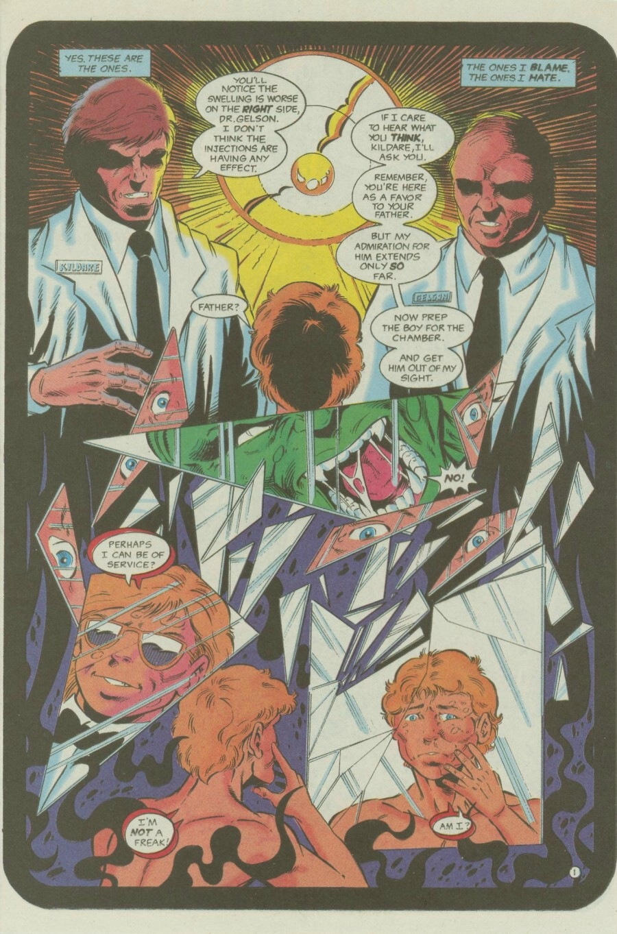 Read online Ex-Mutants comic -  Issue #6 - 3