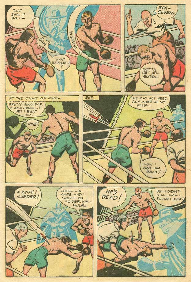 Read online Shadow Comics comic -  Issue #79 - 8