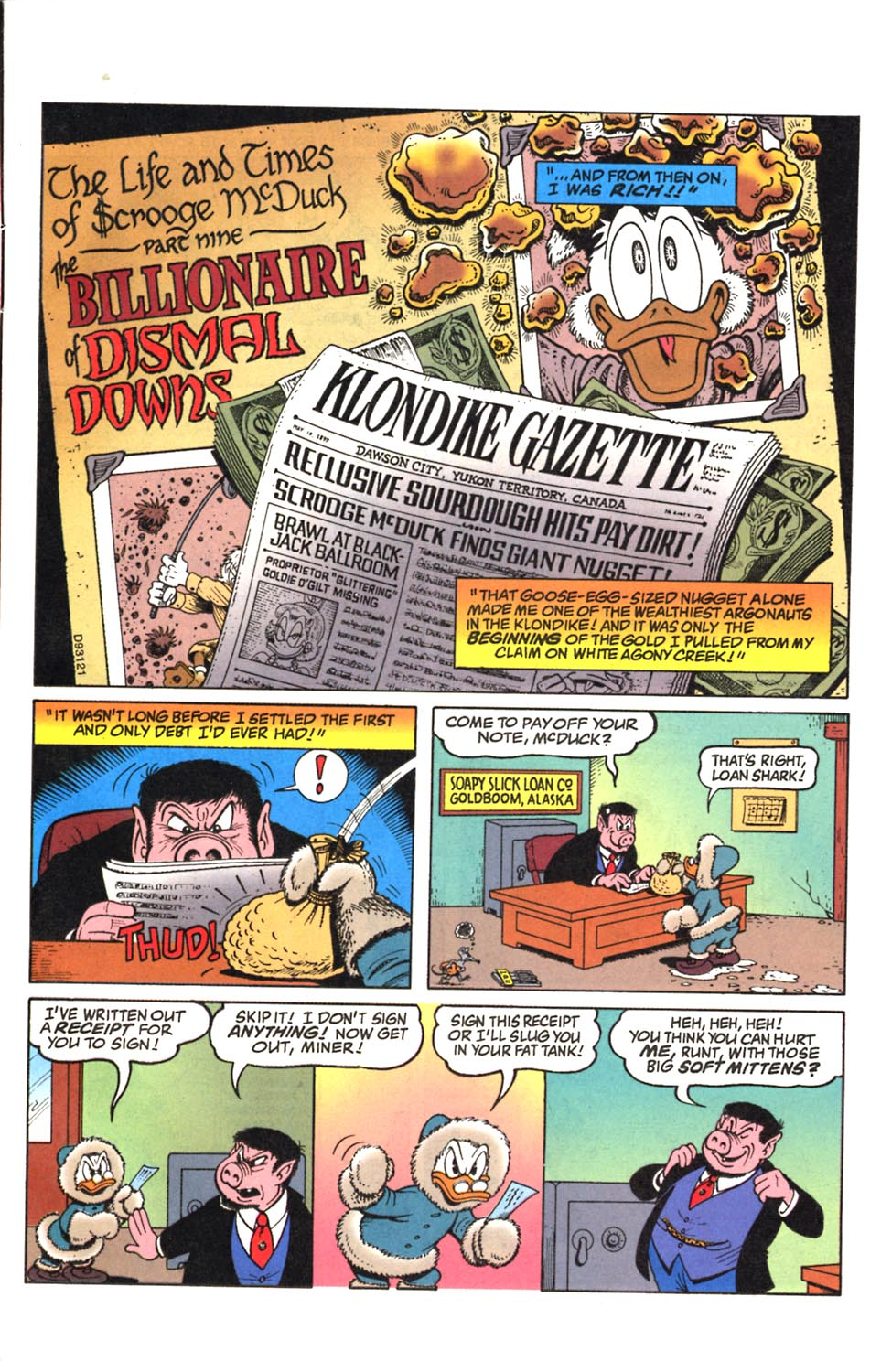 Read online Uncle Scrooge (1953) comic -  Issue #293 - 2