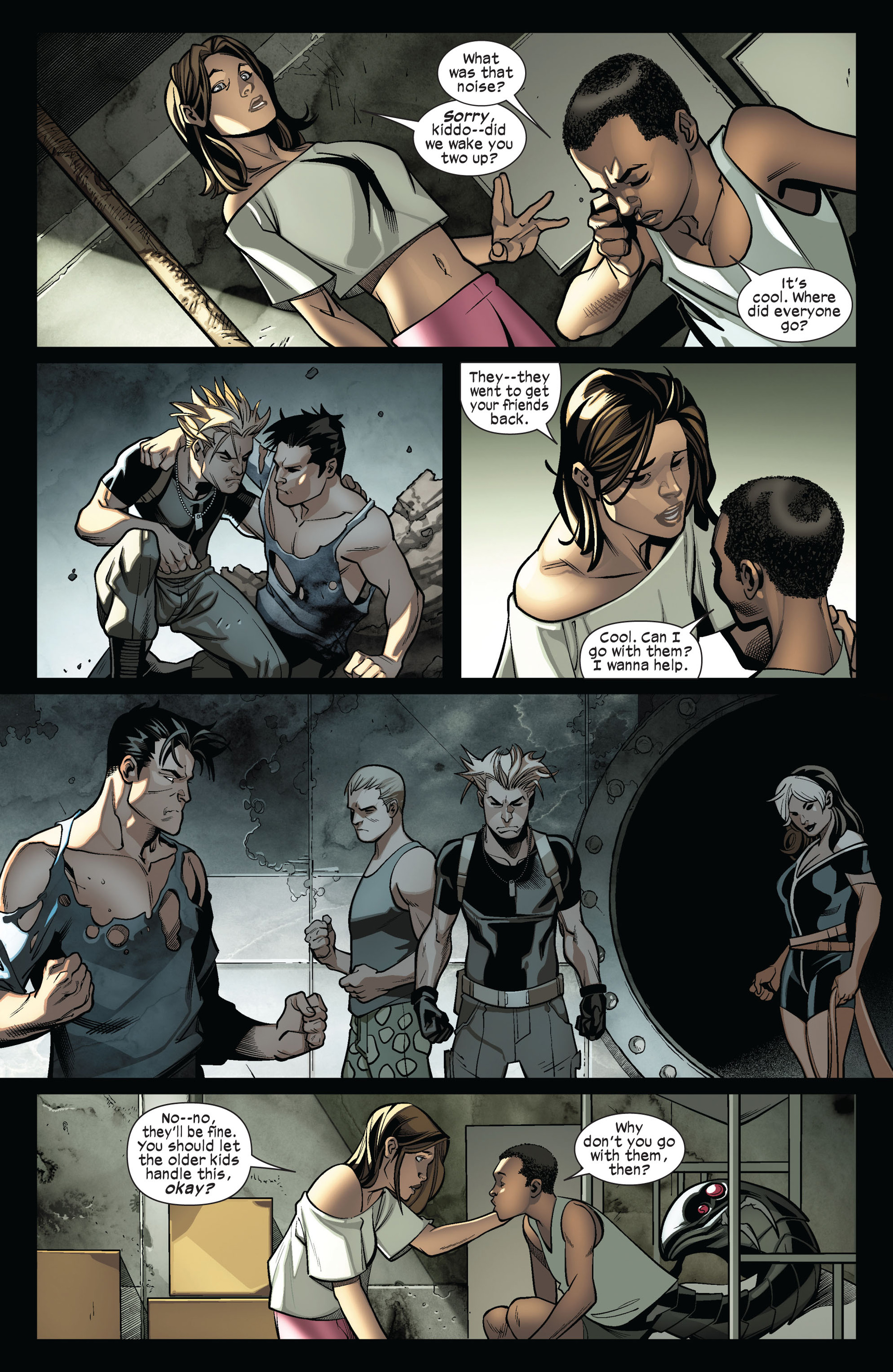 Read online Ultimate Comics X-Men comic -  Issue #4 - 18