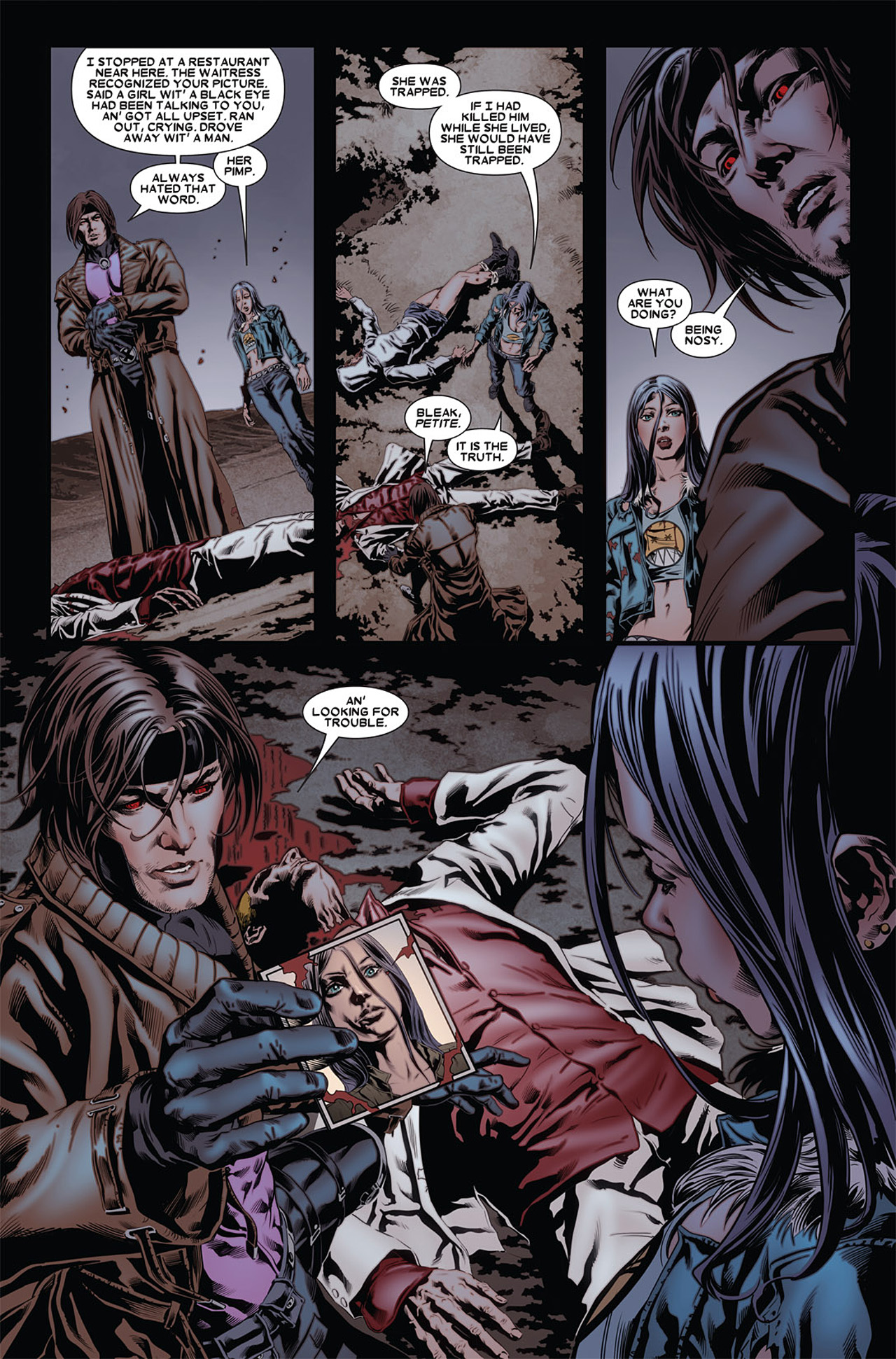 Read online X-23 (2010) comic -  Issue #4 - 14