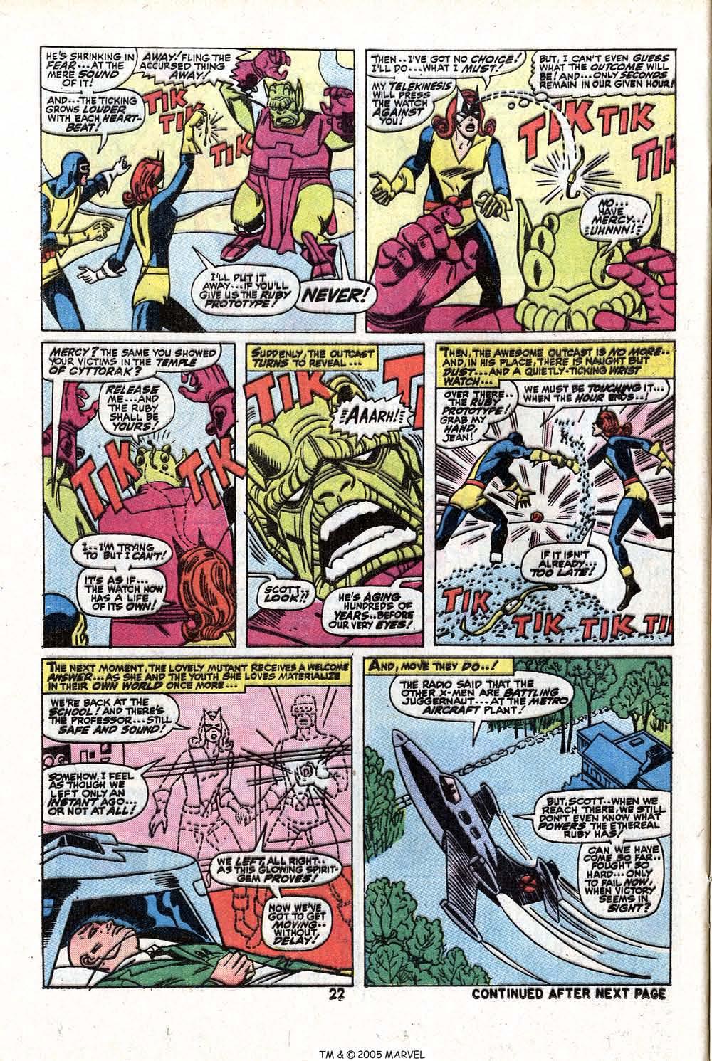Read online Uncanny X-Men (1963) comic -  Issue #81 - 24