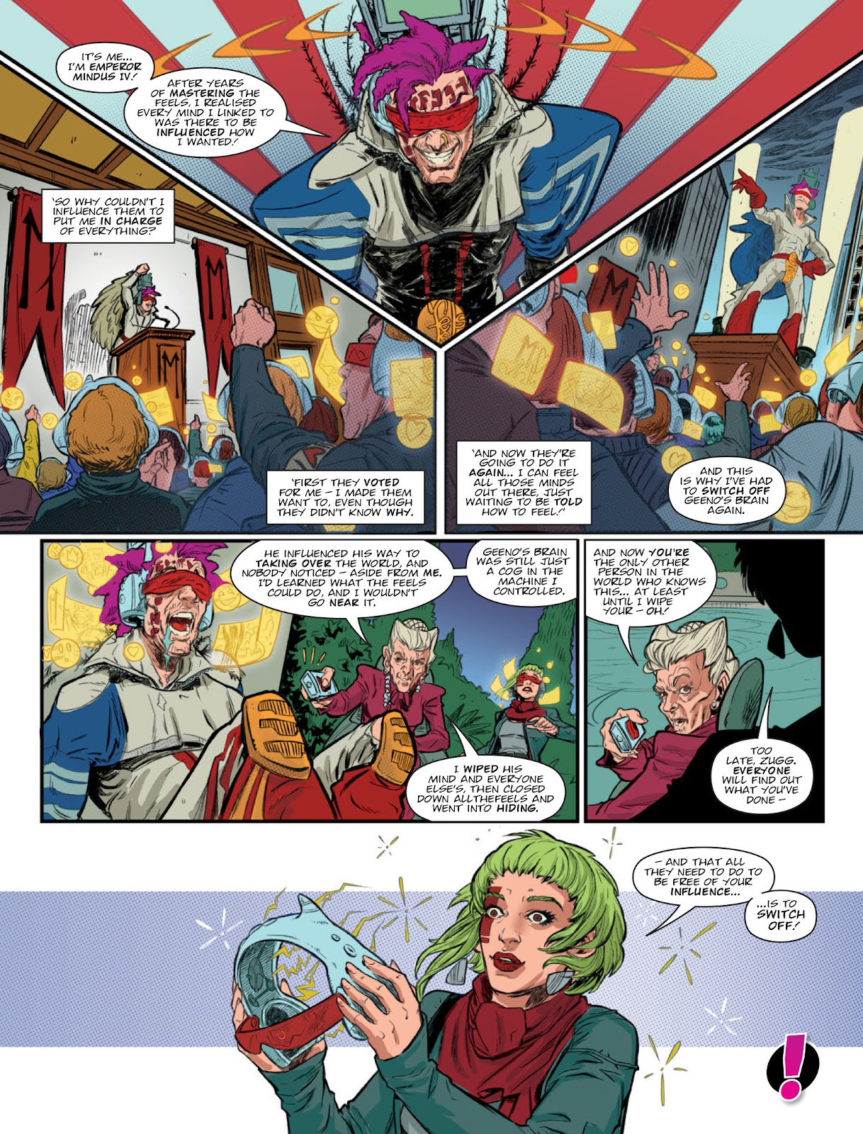 2000 AD issue 2220 - Page 40