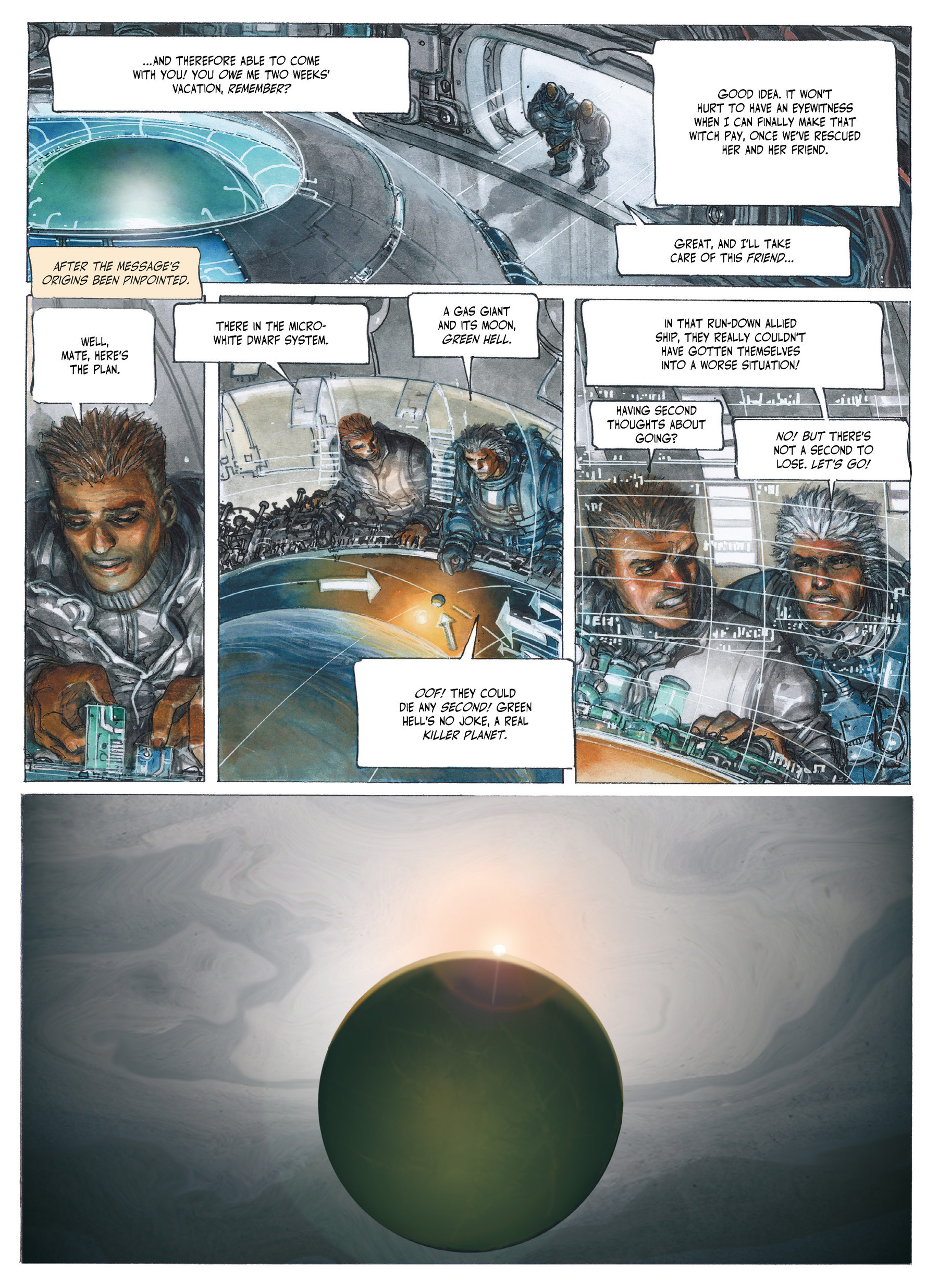 Read online The Fourth Power comic -  Issue #3 - 32