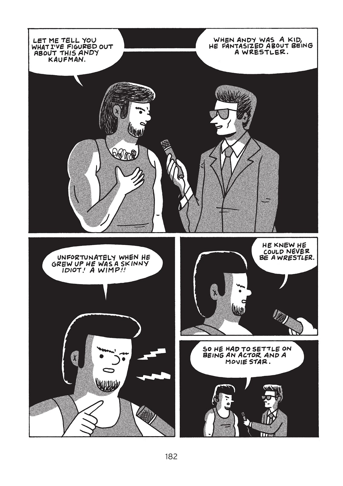 Read online Is This Guy For Real?: The Unbelievable Andy Kaufman comic -  Issue # TPB (Part 2) - 87