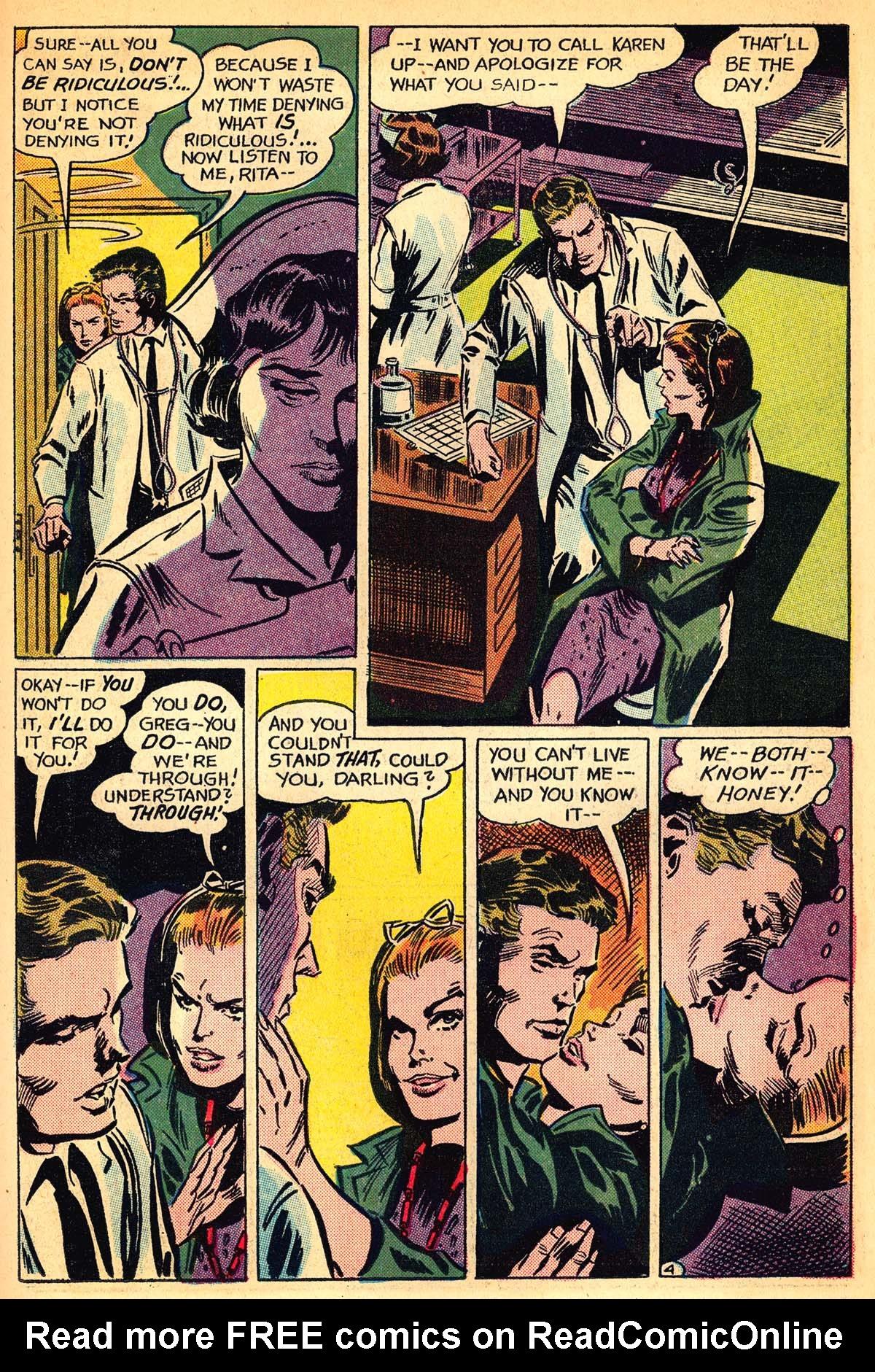 Read online Secret Hearts comic -  Issue #111 - 23
