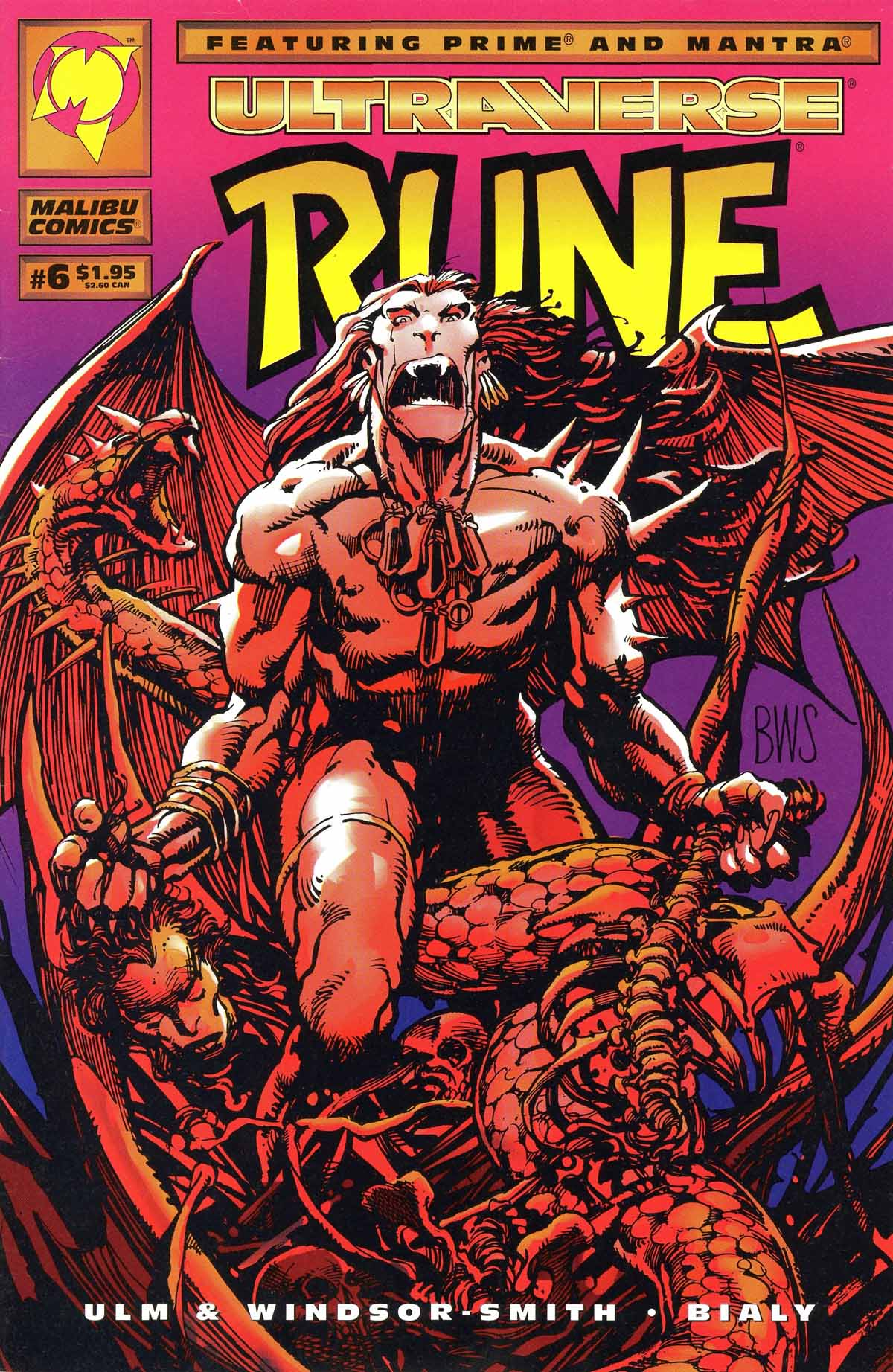 Read online Rune (1994) comic -  Issue #6 - 1