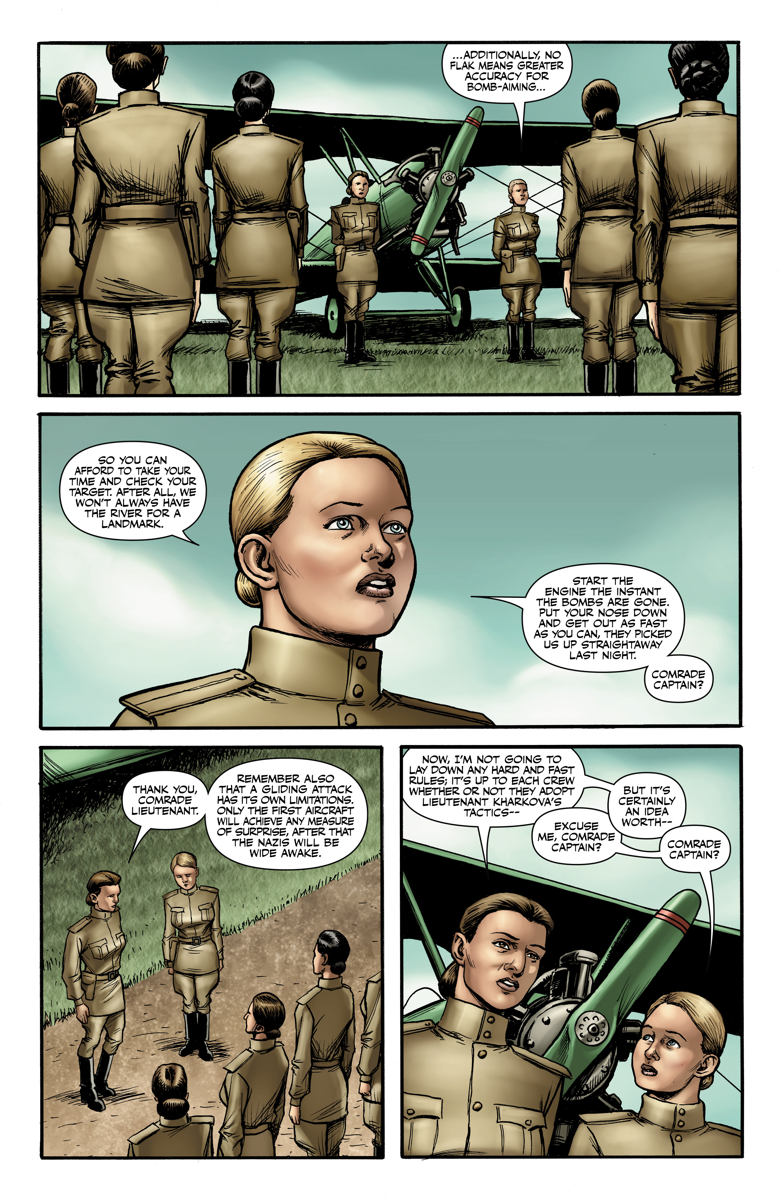 Read online Battlefields: Night Witches comic -  Issue # TPB - 31