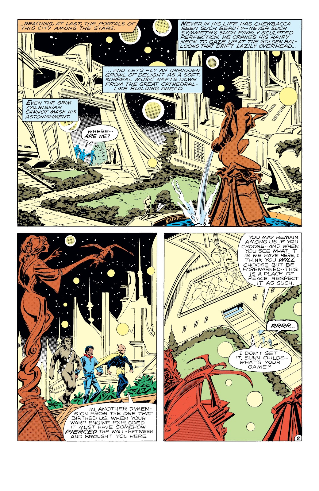 Read online Star Wars Legends: The Original Marvel Years - Epic Collection comic -  Issue # TPB 3 (Part 2) - 44