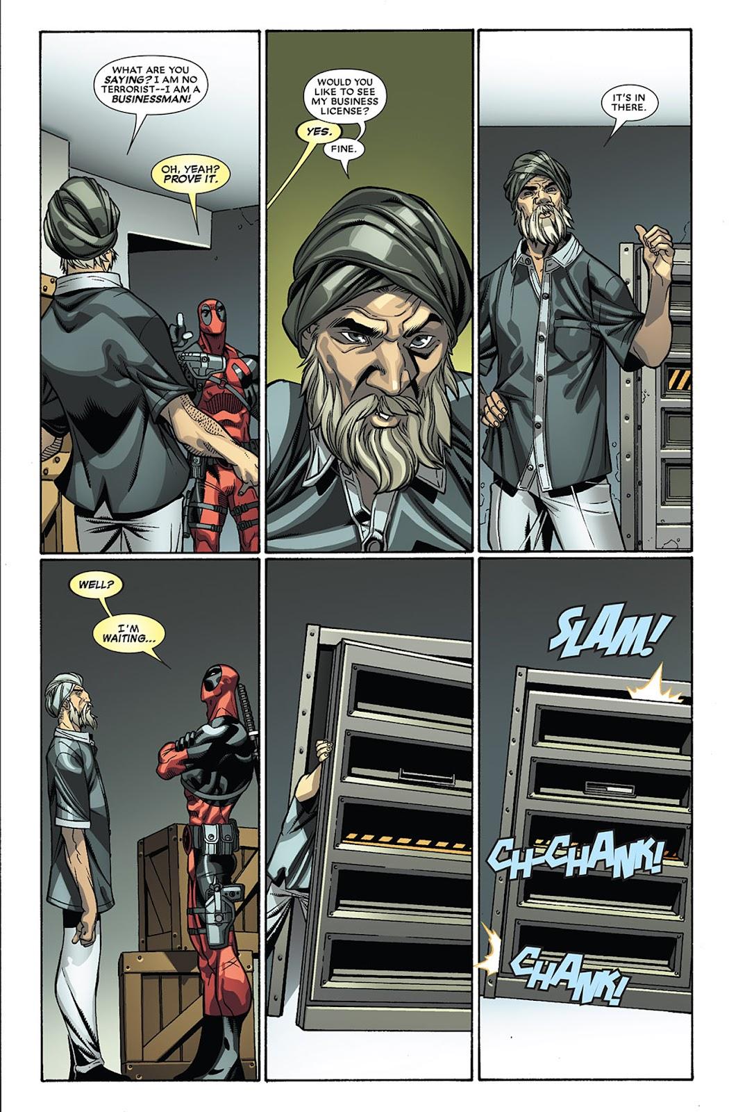 Read online Deadpool (2008) comic -  Issue #27 - 10