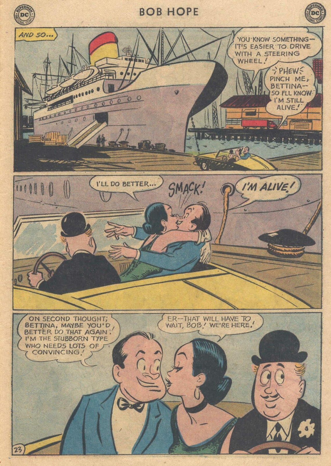The Adventures of Bob Hope issue 76 - Page 29