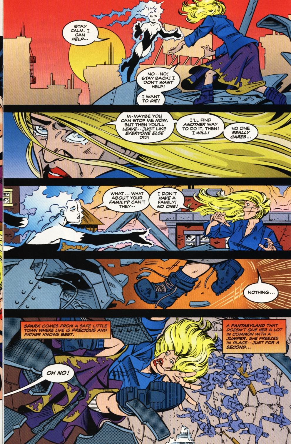 Read online Superboy & The Ravers comic -  Issue #9 - 4