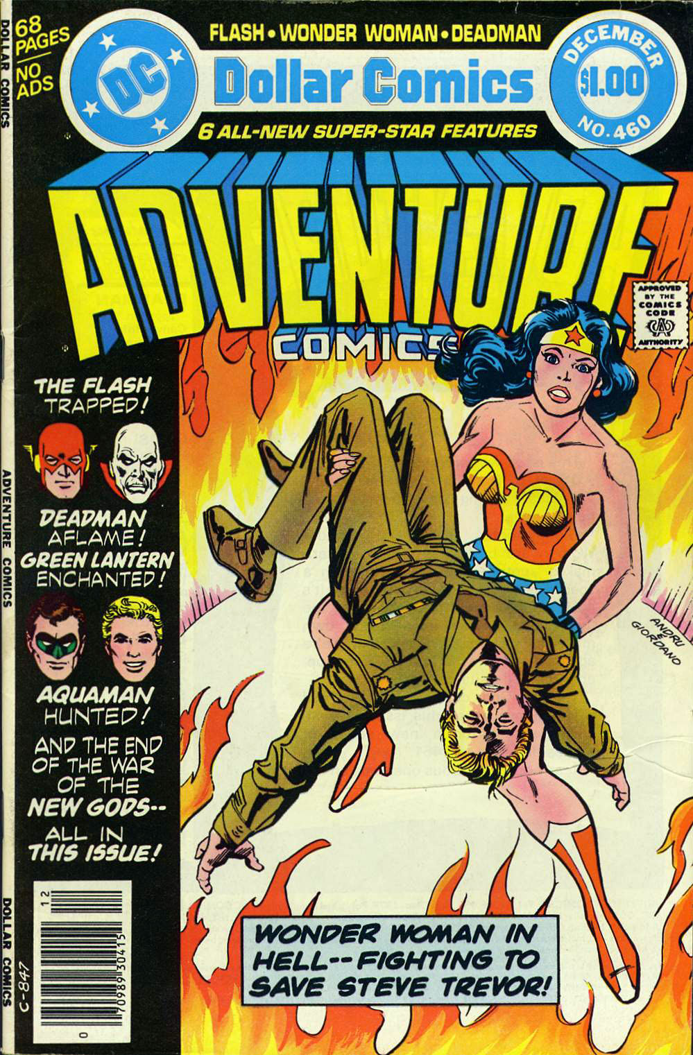 Read online Adventure Comics (1938) comic -  Issue #460 - 1