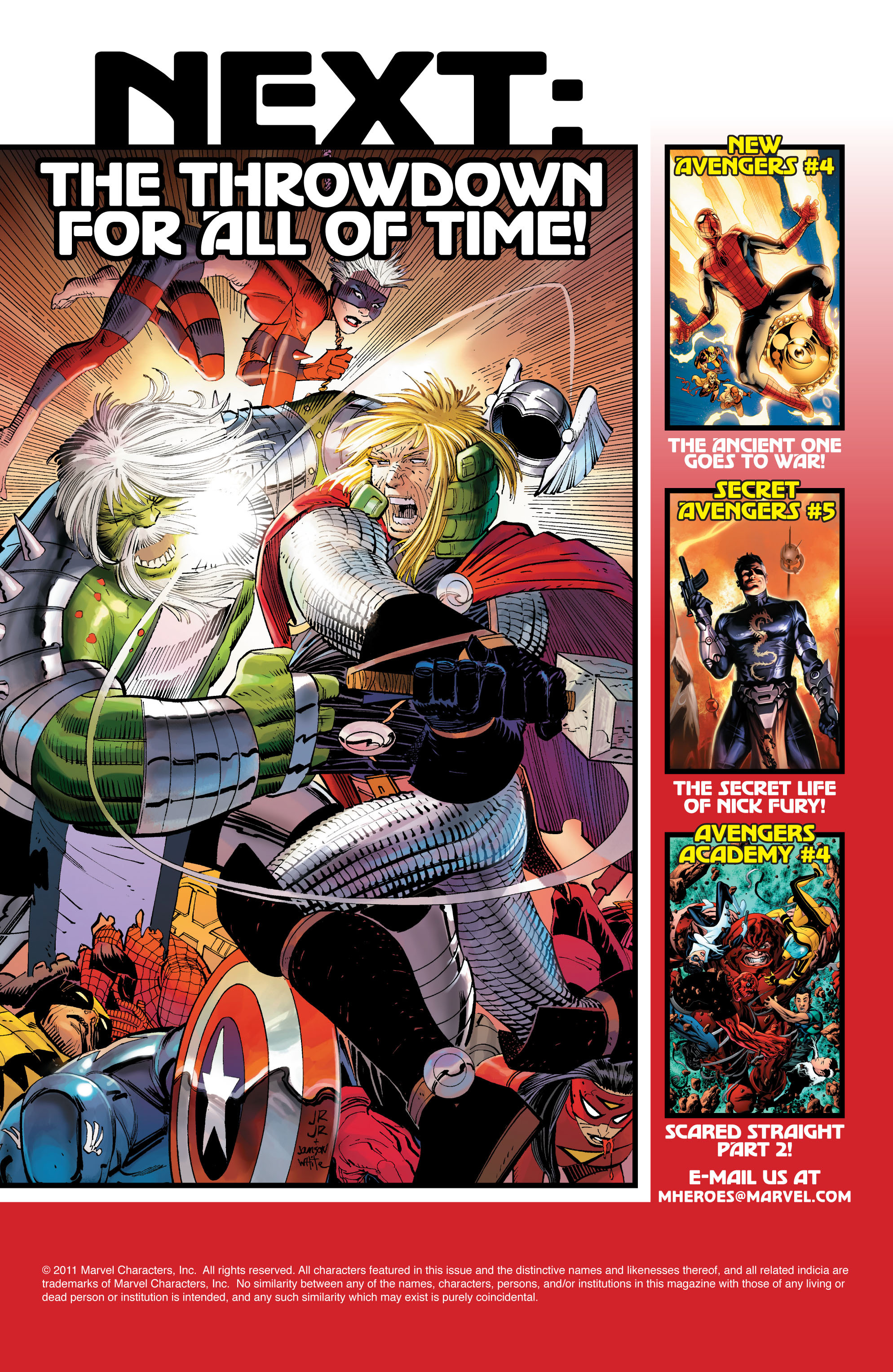 Read online Avengers (2010) comic -  Issue #5 - 27
