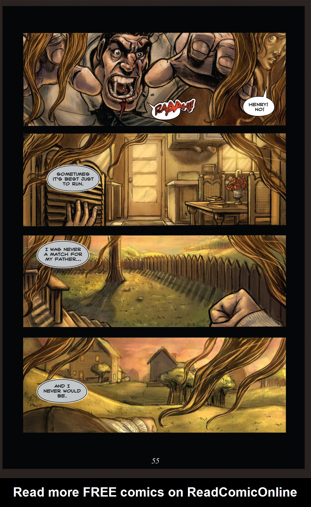 Read online Nightmare World comic -  Issue # Vol. 2 Leave the Light On - 56