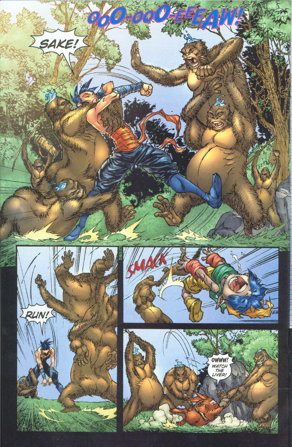 Read online Ninja Boy comic -  Issue #5 - 16