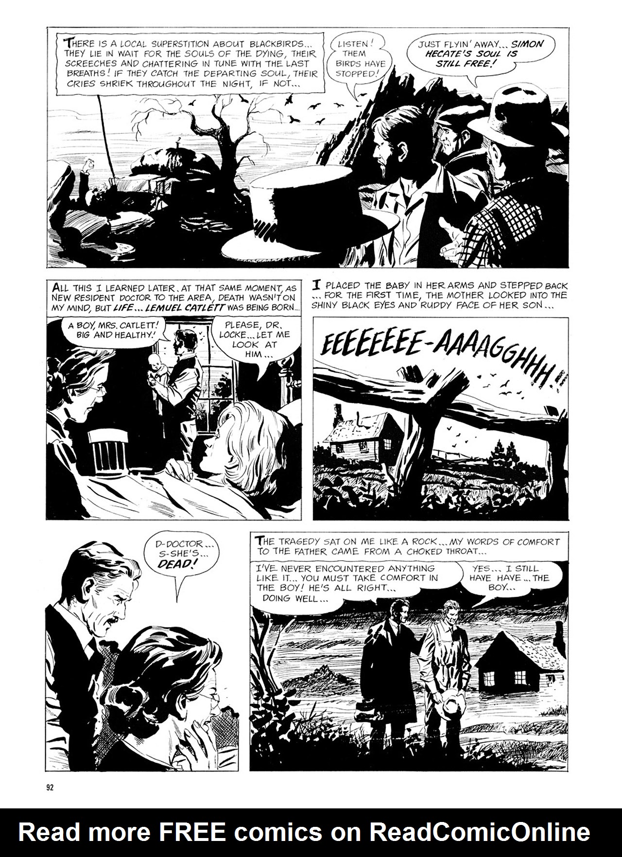 Read online Eerie Archives comic -  Issue # TPB 1 - 93