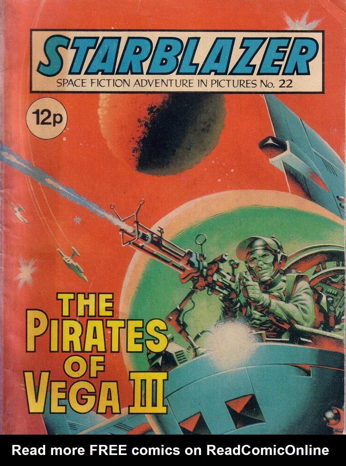 Starblazer issue 22 - Page 1