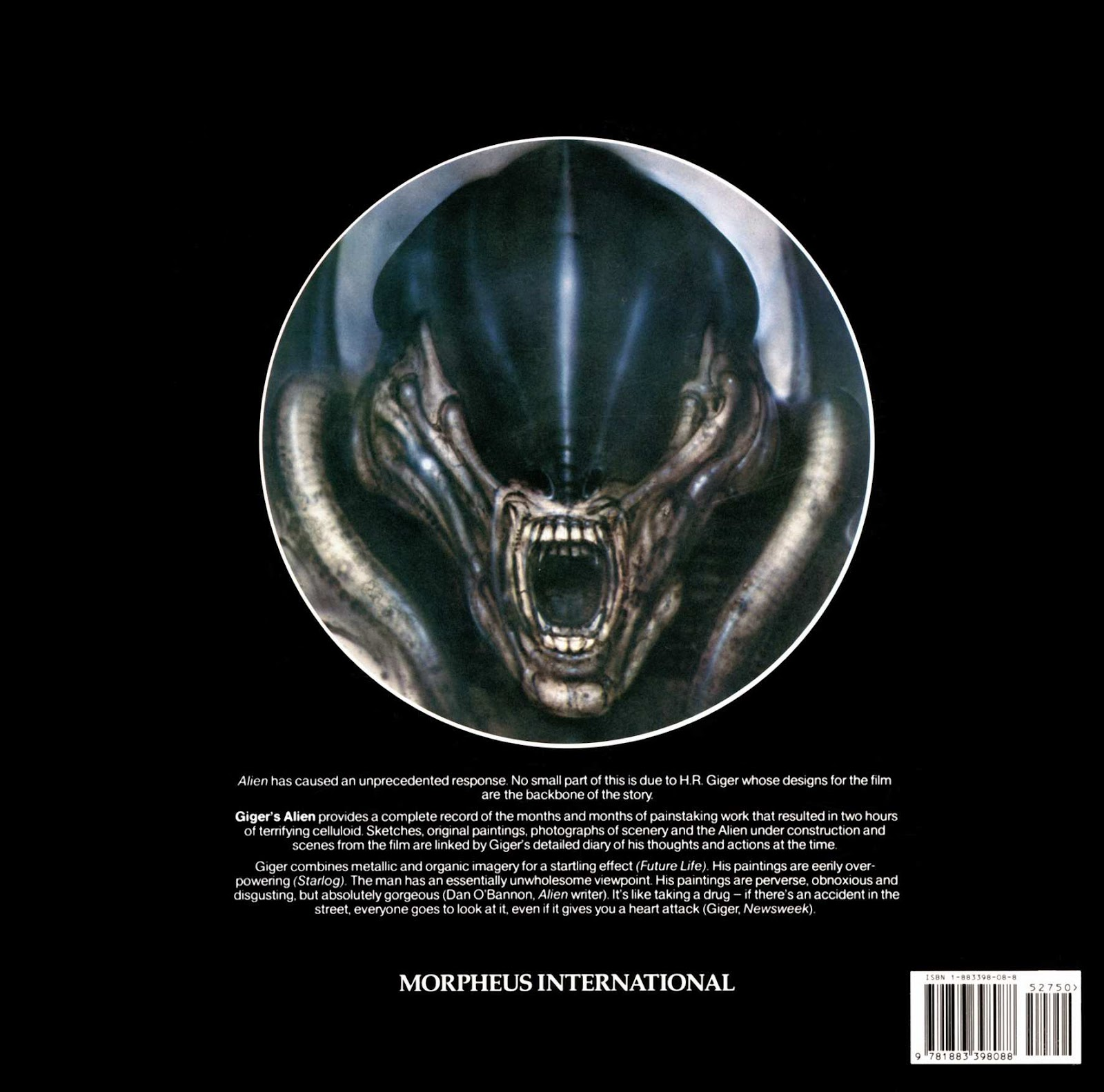 Read online Giger's Alien comic -  Issue # TPB - 80