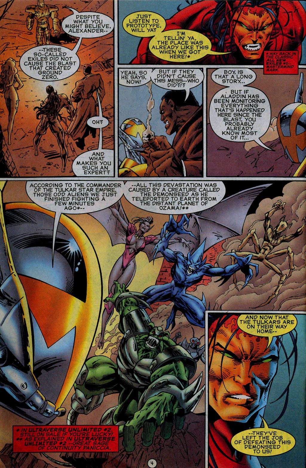 Read online UltraForce (1995) comic -  Issue #13 - 5