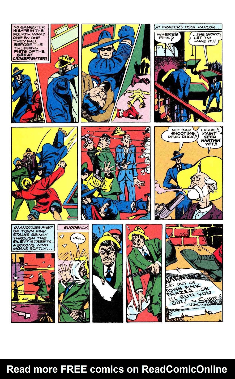 Read online Will Eisner's The Spirit Archives comic -  Issue # TPB 2 (Part 1) - 70