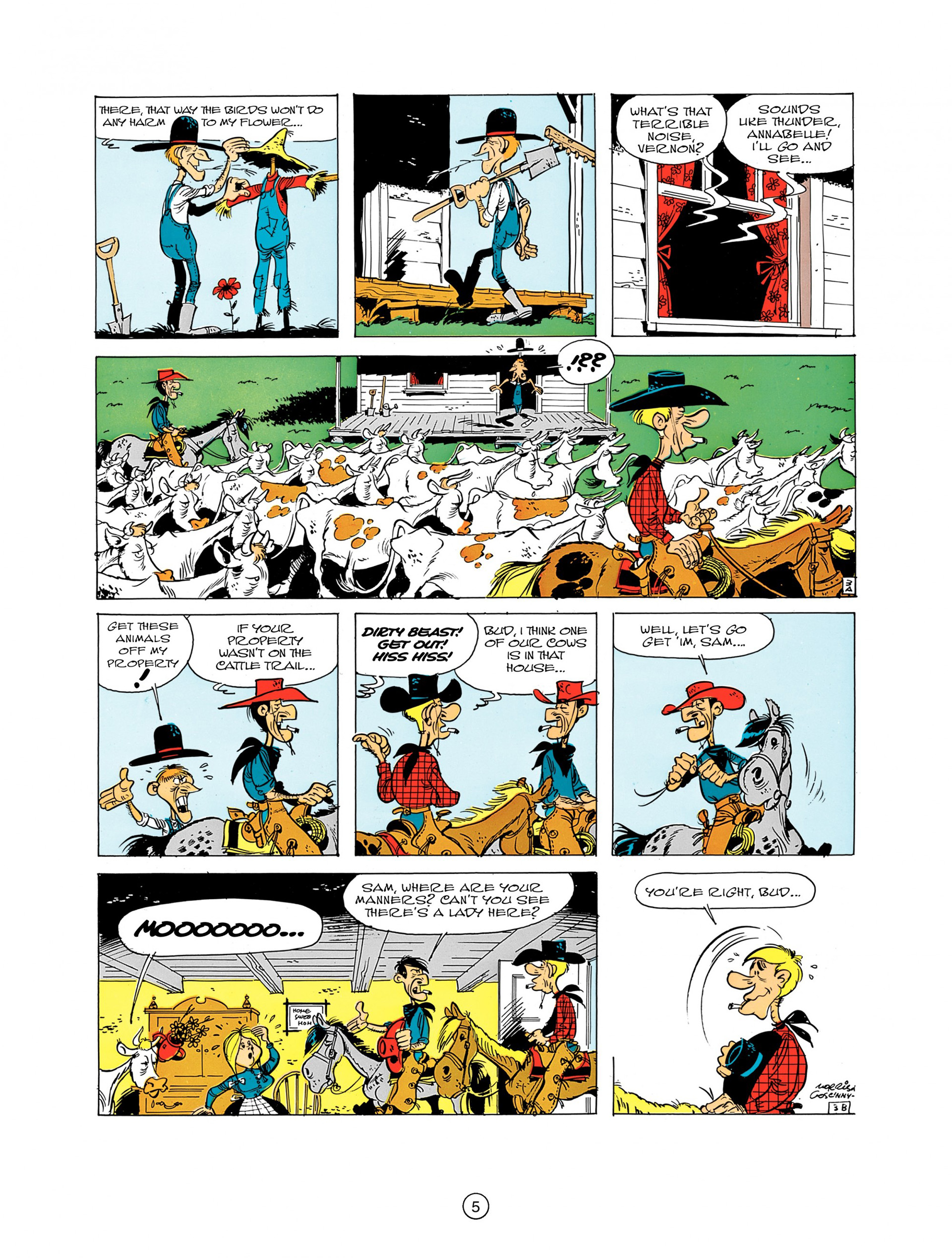 Read online A Lucky Luke Adventure comic -  Issue #7 - 5