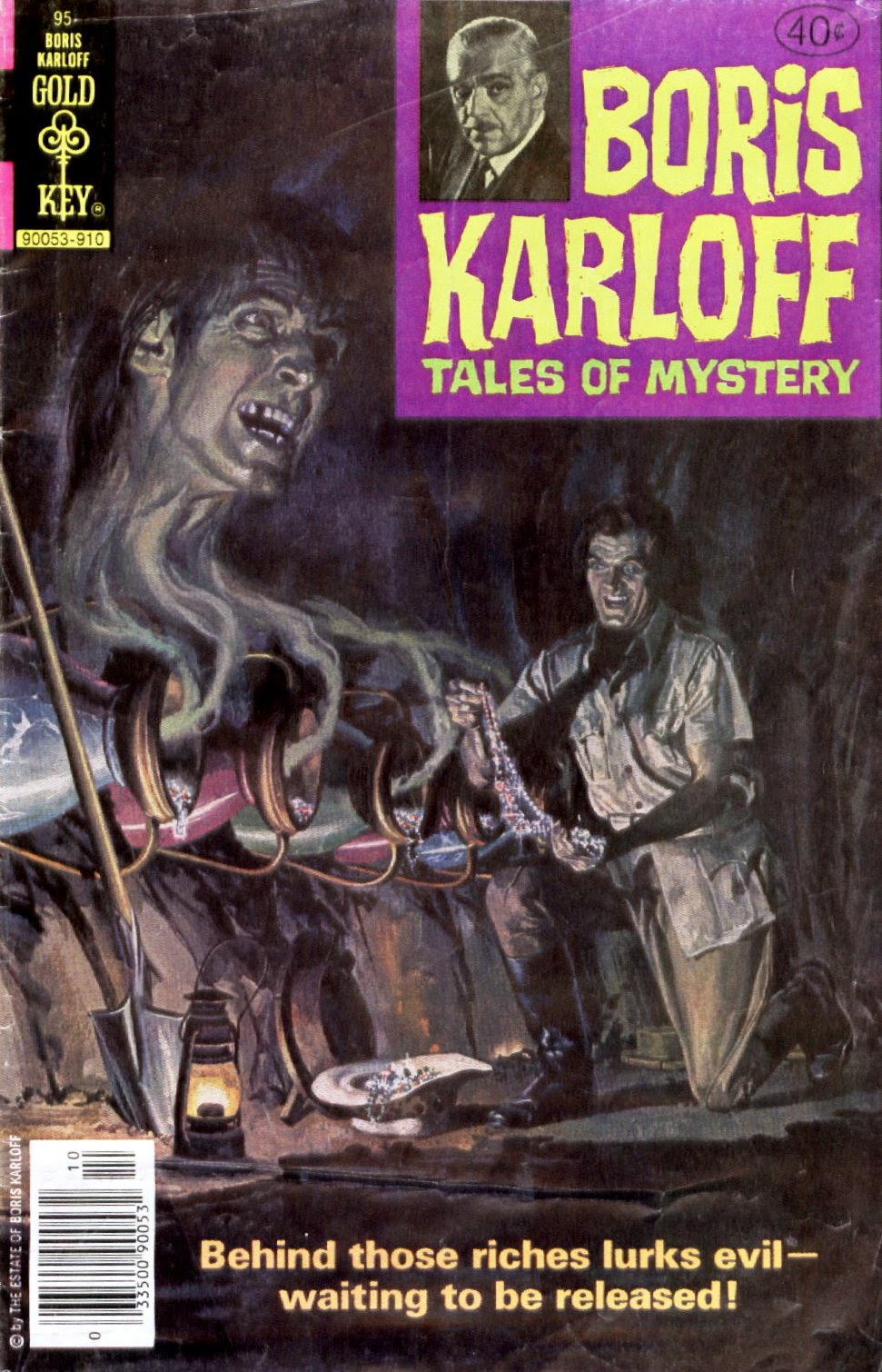 Boris Karloff Tales of Mystery issue 95 - Page 1