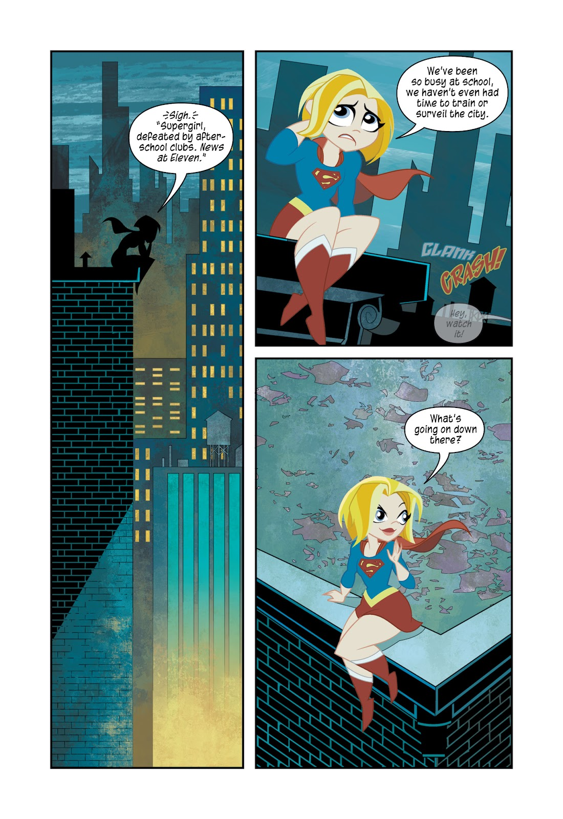 Read online DC Super Hero Girls: At Metropolis High comic -  Issue # TPB - 81