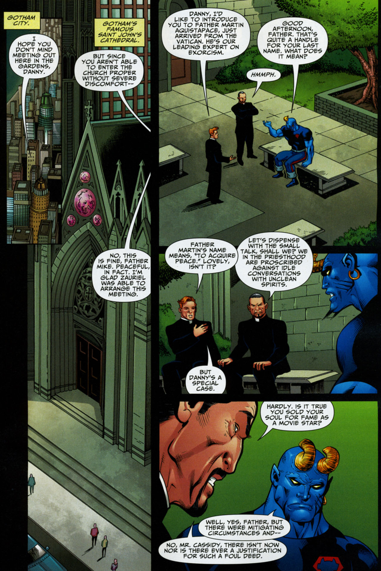 Read online Shadowpact comic -  Issue #16 - 17