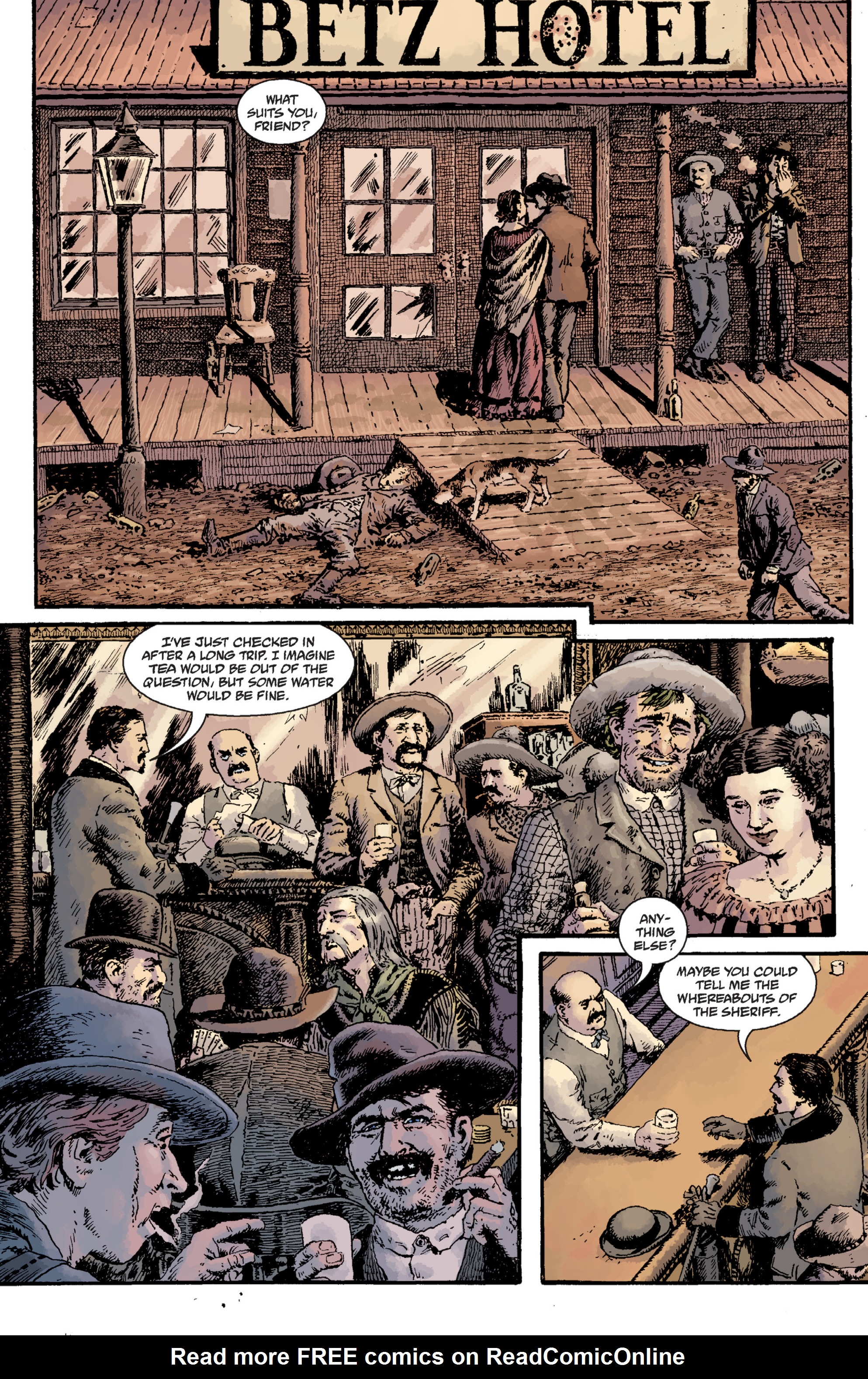 Read online Sir Edward Grey, Witchfinder: Lost and Gone Forever comic -  Issue # TPB - 14