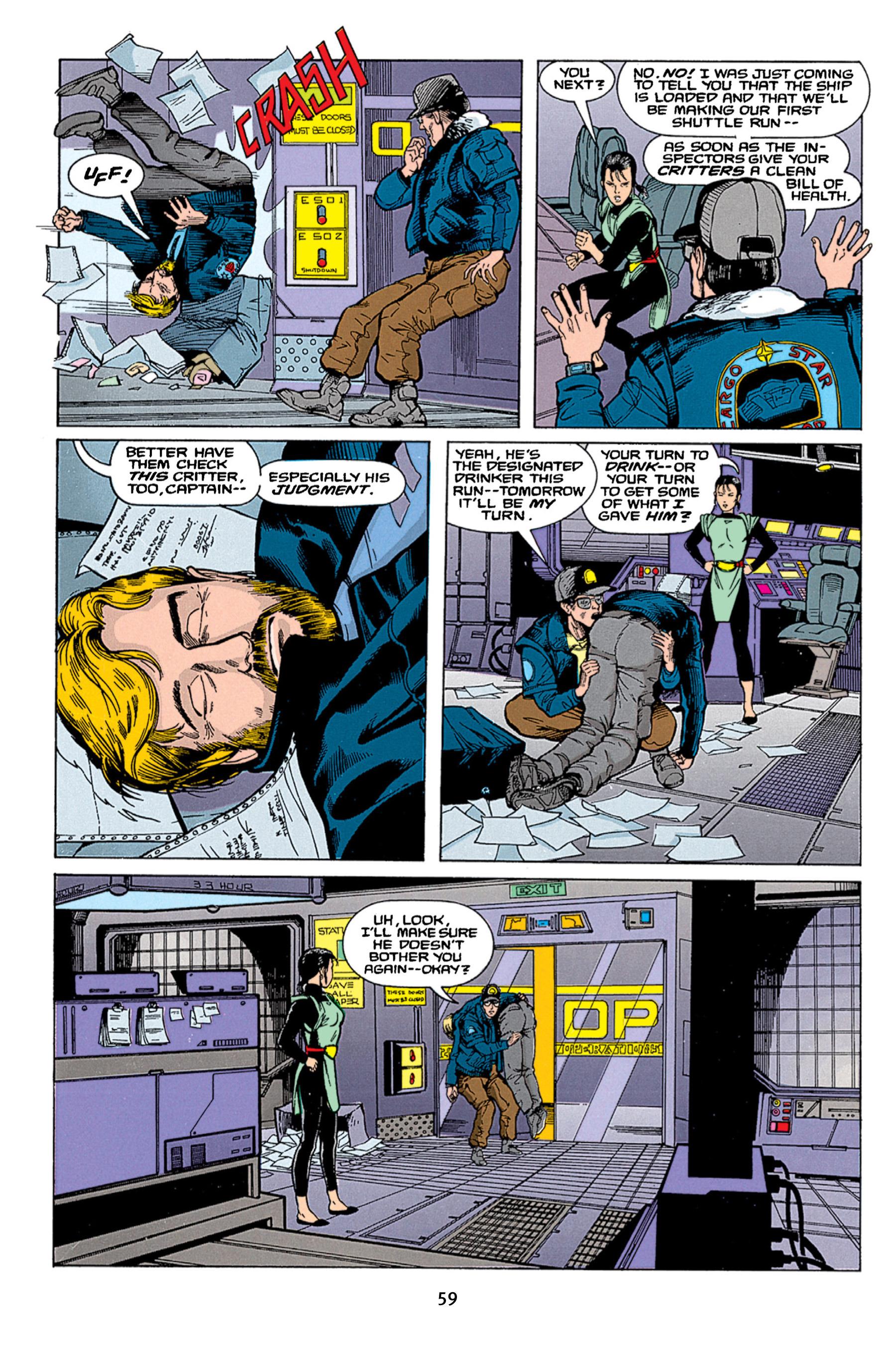 Read online Aliens vs. Predator Omnibus comic -  Issue # _TPB 1 Part 1 - 59