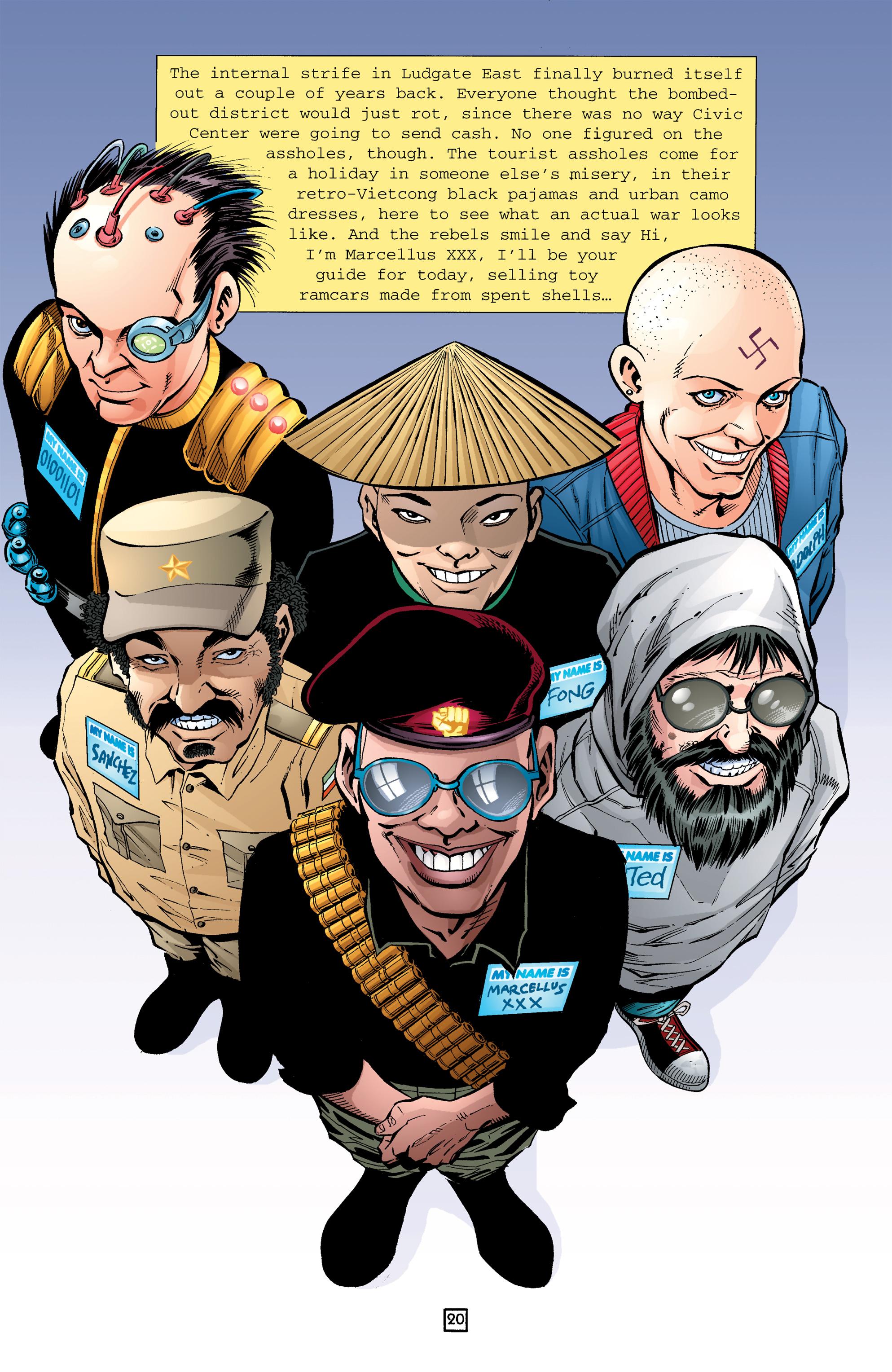 Read online Transmetropolitan comic -  Issue #26 - 21