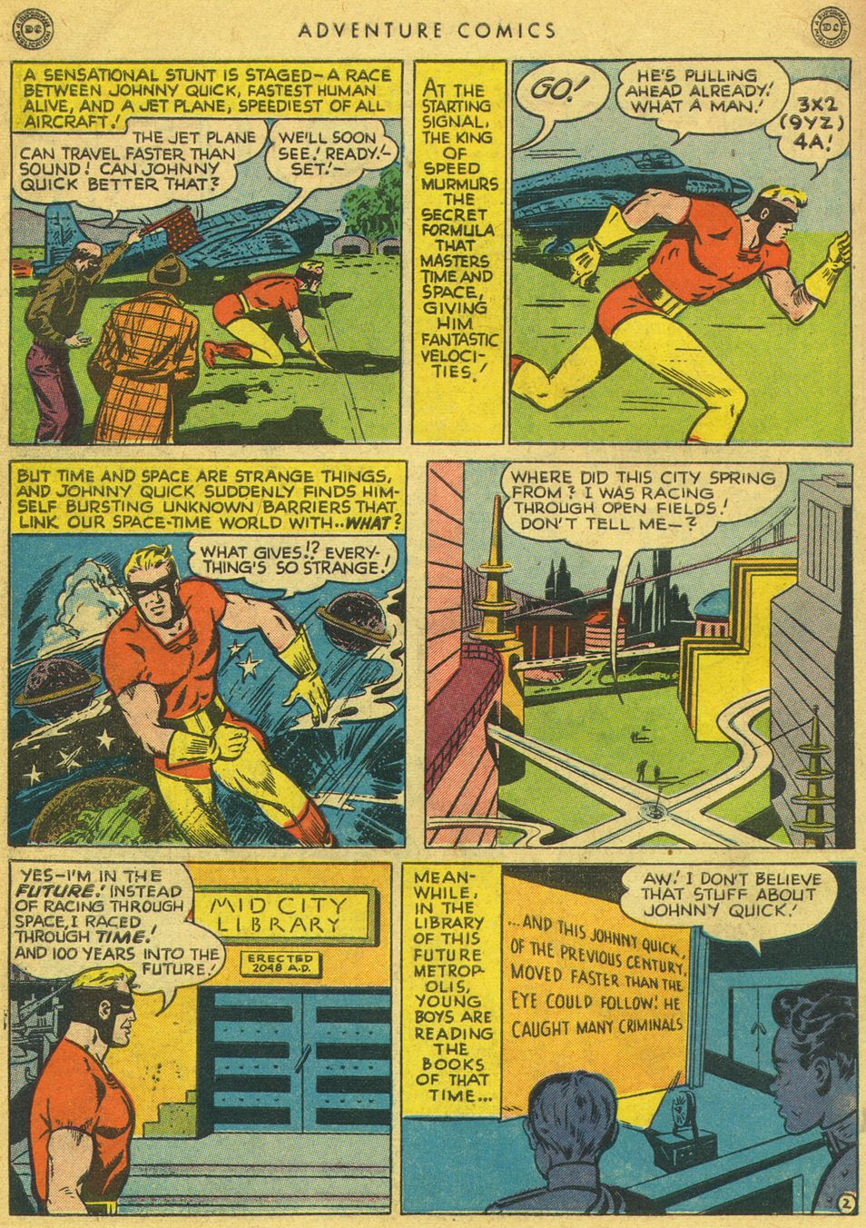 Read online Adventure Comics (1938) comic -  Issue #134 - 42