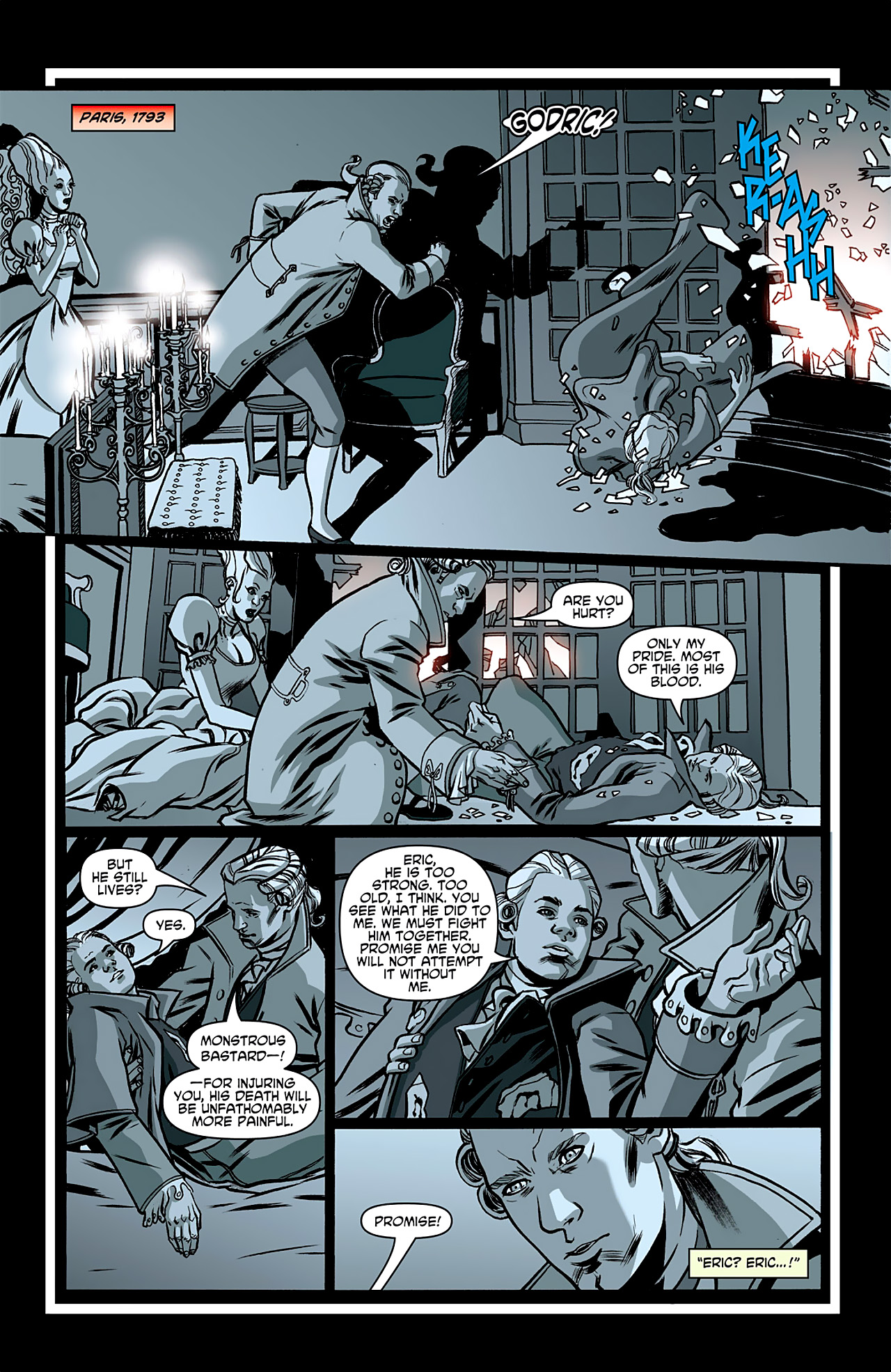 Read online True Blood: French Quarter comic -  Issue #1 - 18