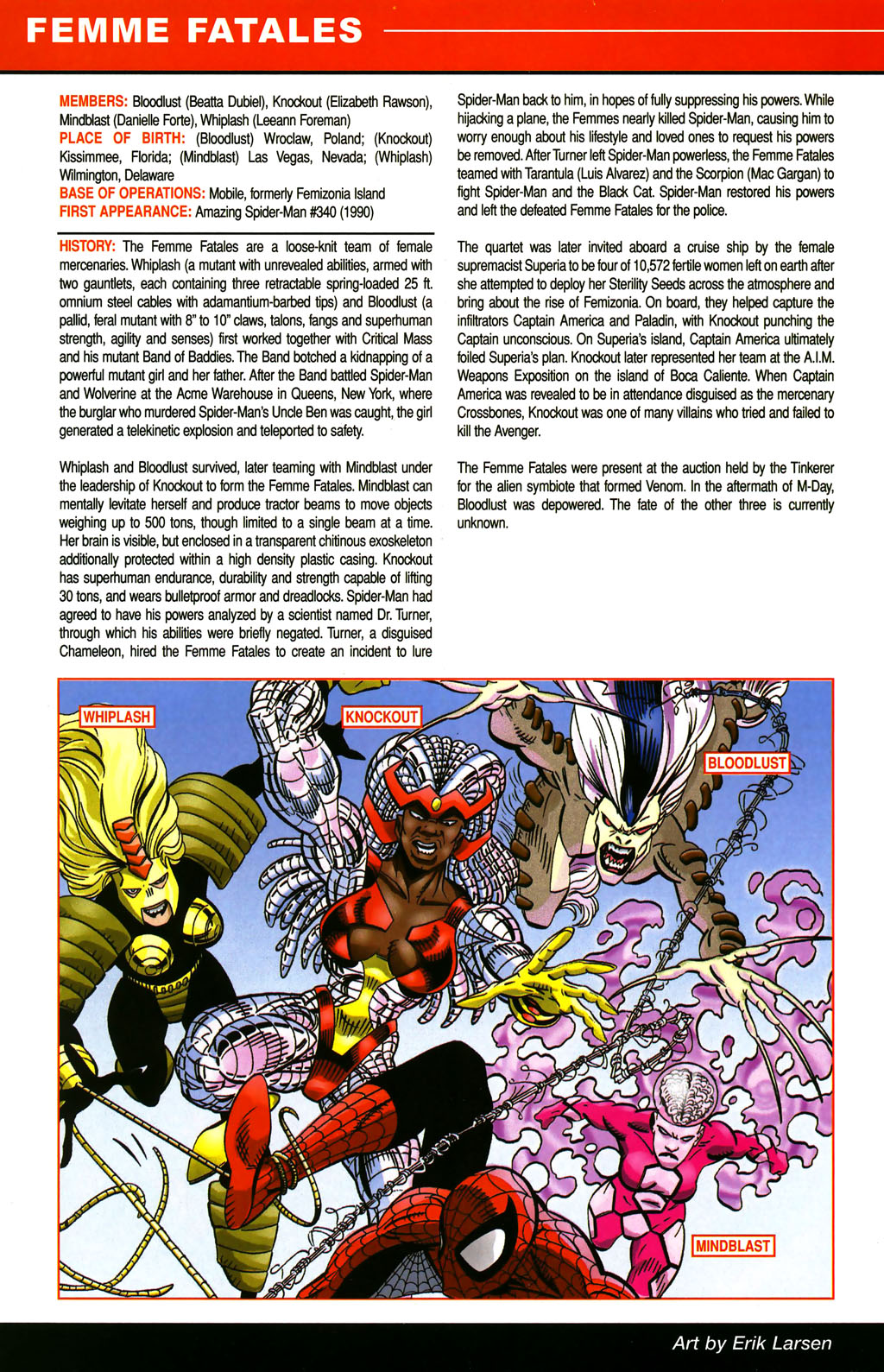 Read online All-New Official Handbook of the Marvel Universe A to Z comic -  Issue #4 - 30