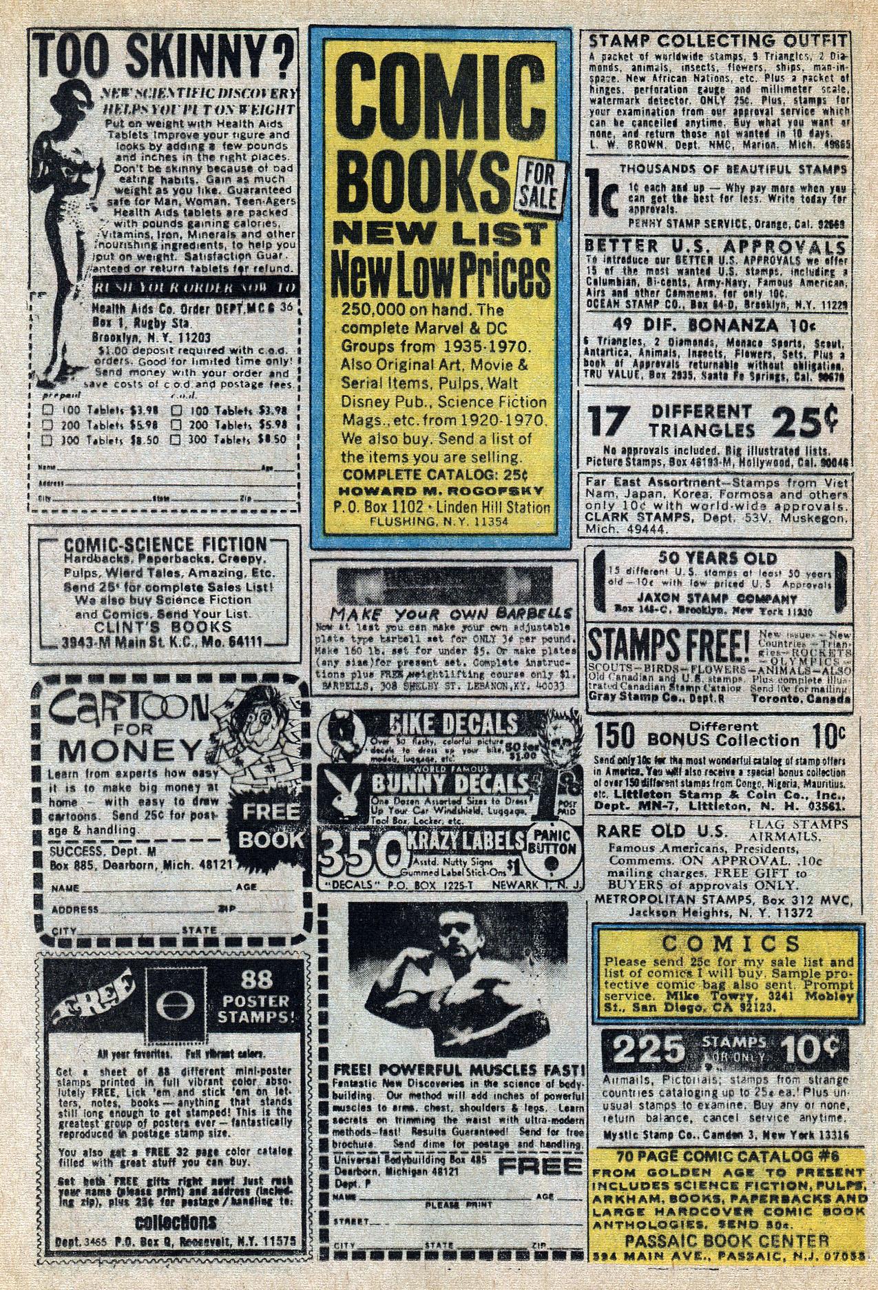 Read online Amazing Adventures (1970) comic -  Issue #8 - 24