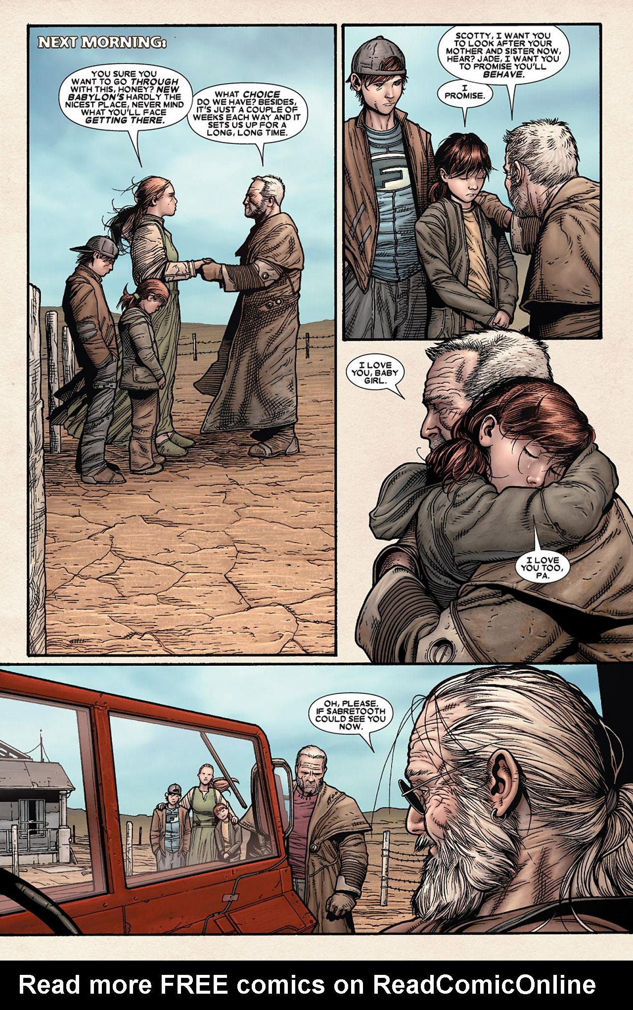 Read online Wolverine: Old Man Logan comic -  Issue # Full - 21
