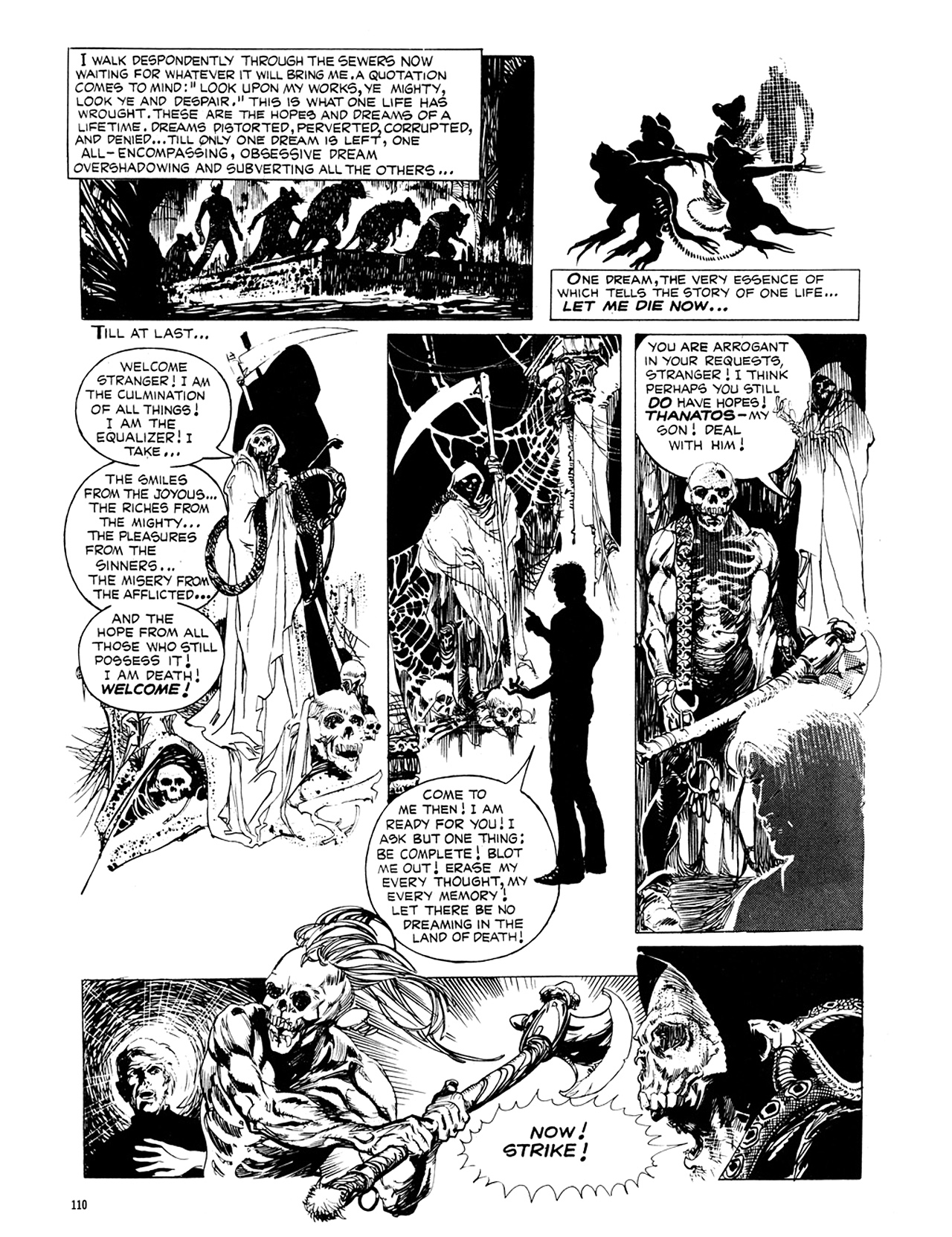 Read online Eerie Archives comic -  Issue # TPB 8 - 111