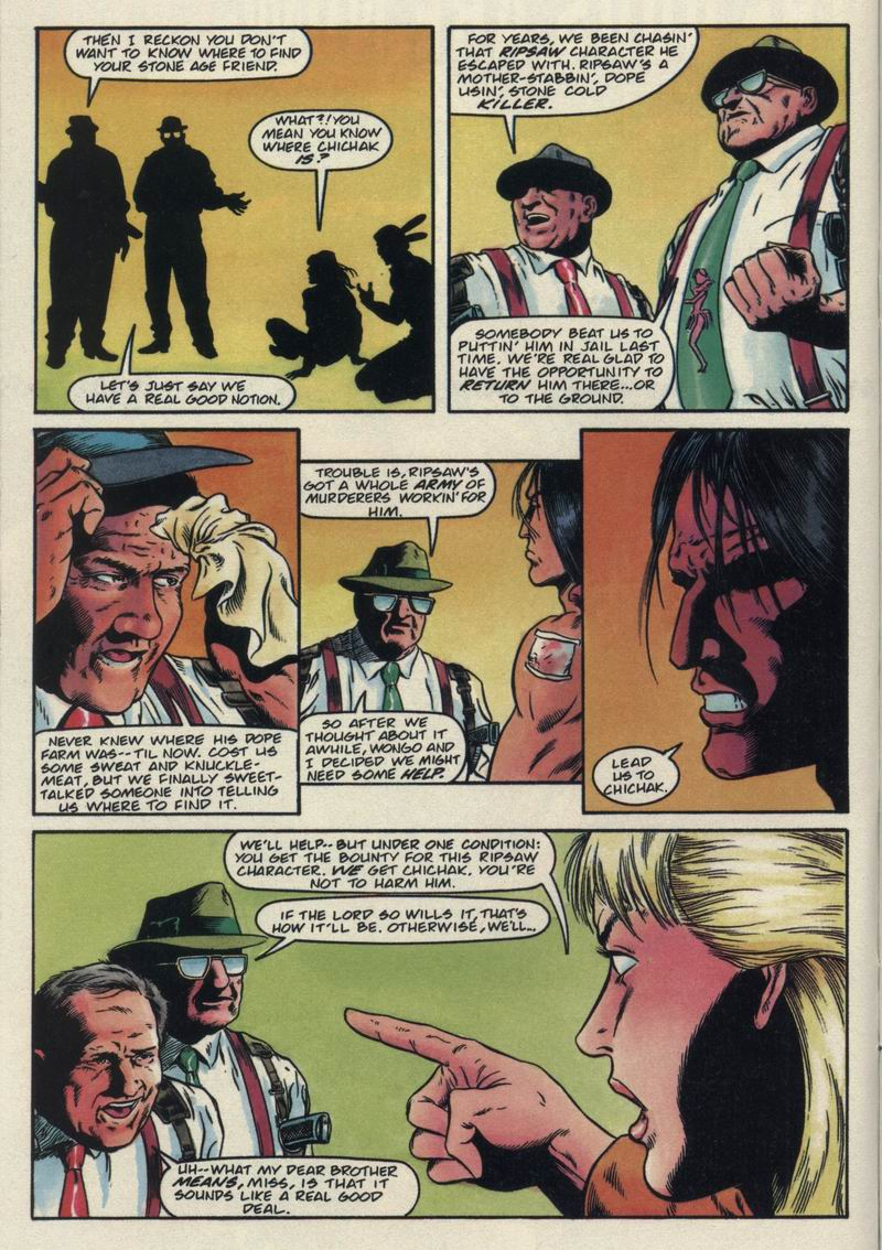 Read online Turok, Dinosaur Hunter (1993) comic -  Issue #21 - 12