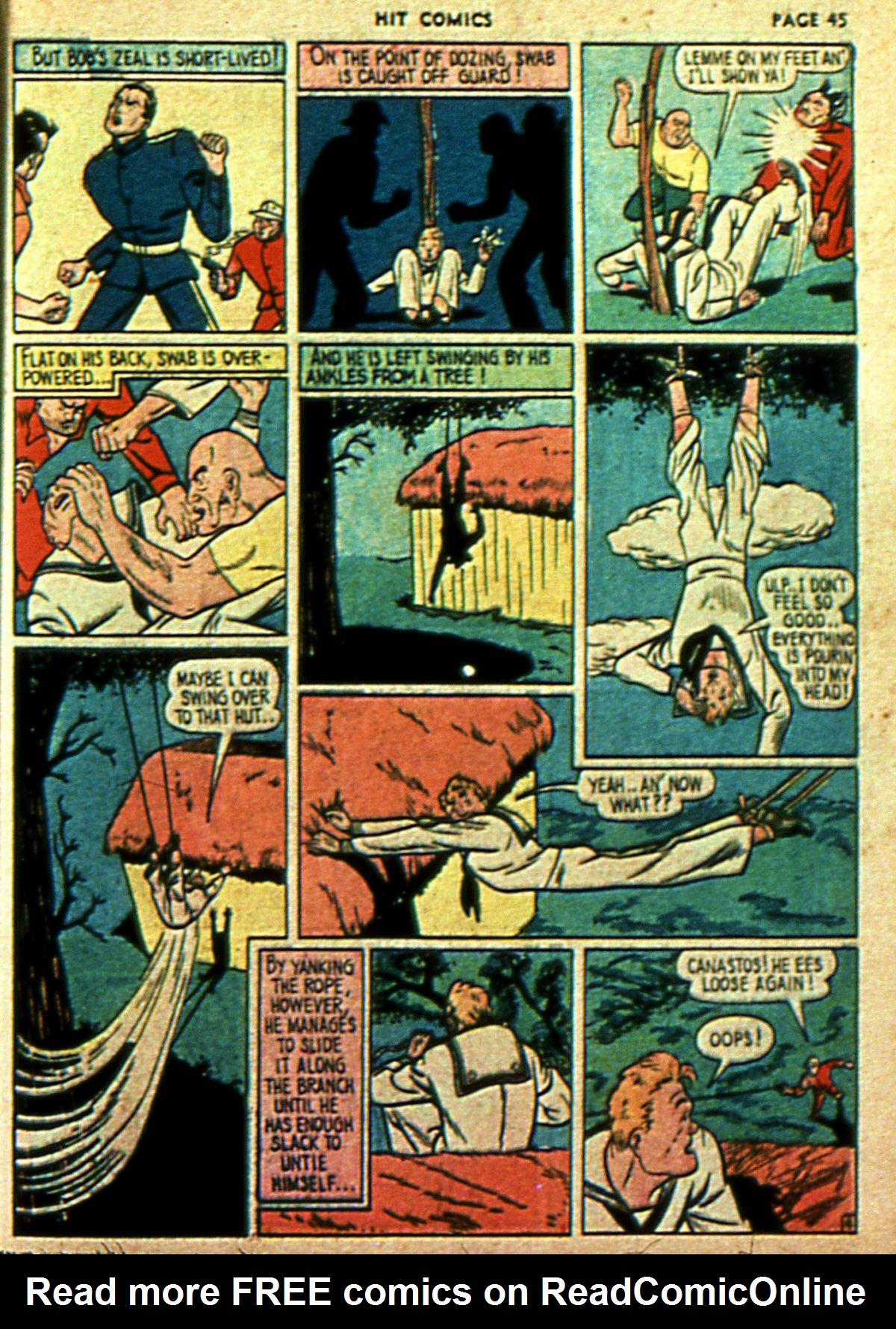 Read online Hit Comics comic -  Issue #2 - 47