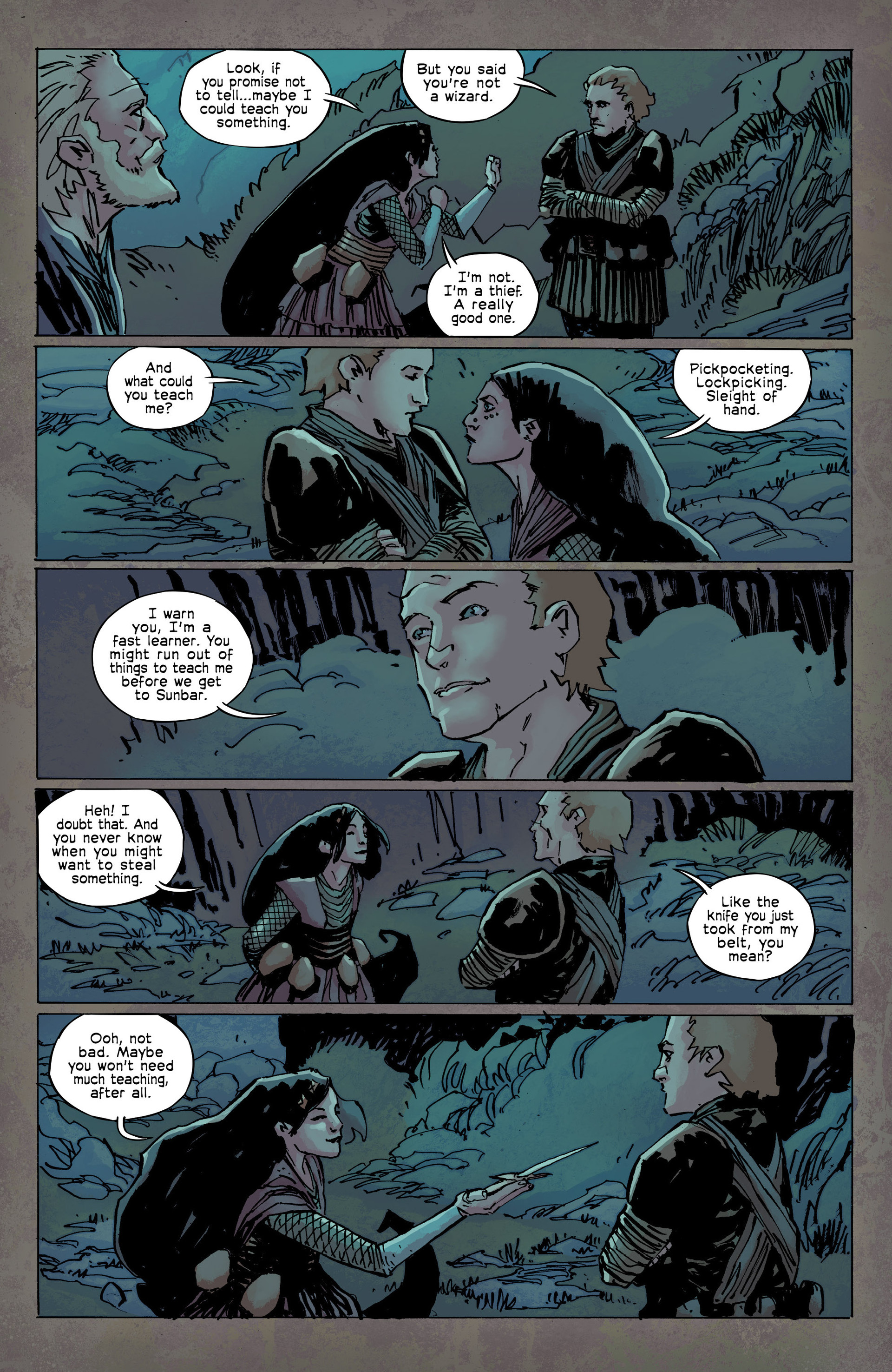 Read online Umbral comic -  Issue #9 - 18