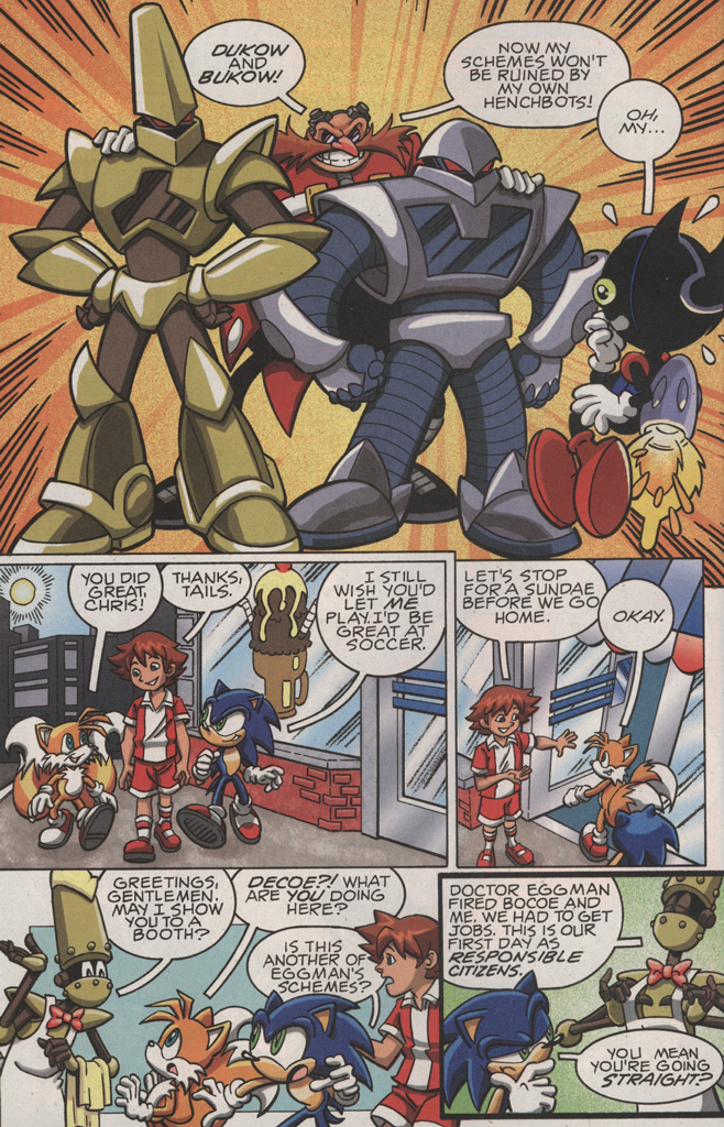 Read online Sonic X comic -  Issue #22 - 10